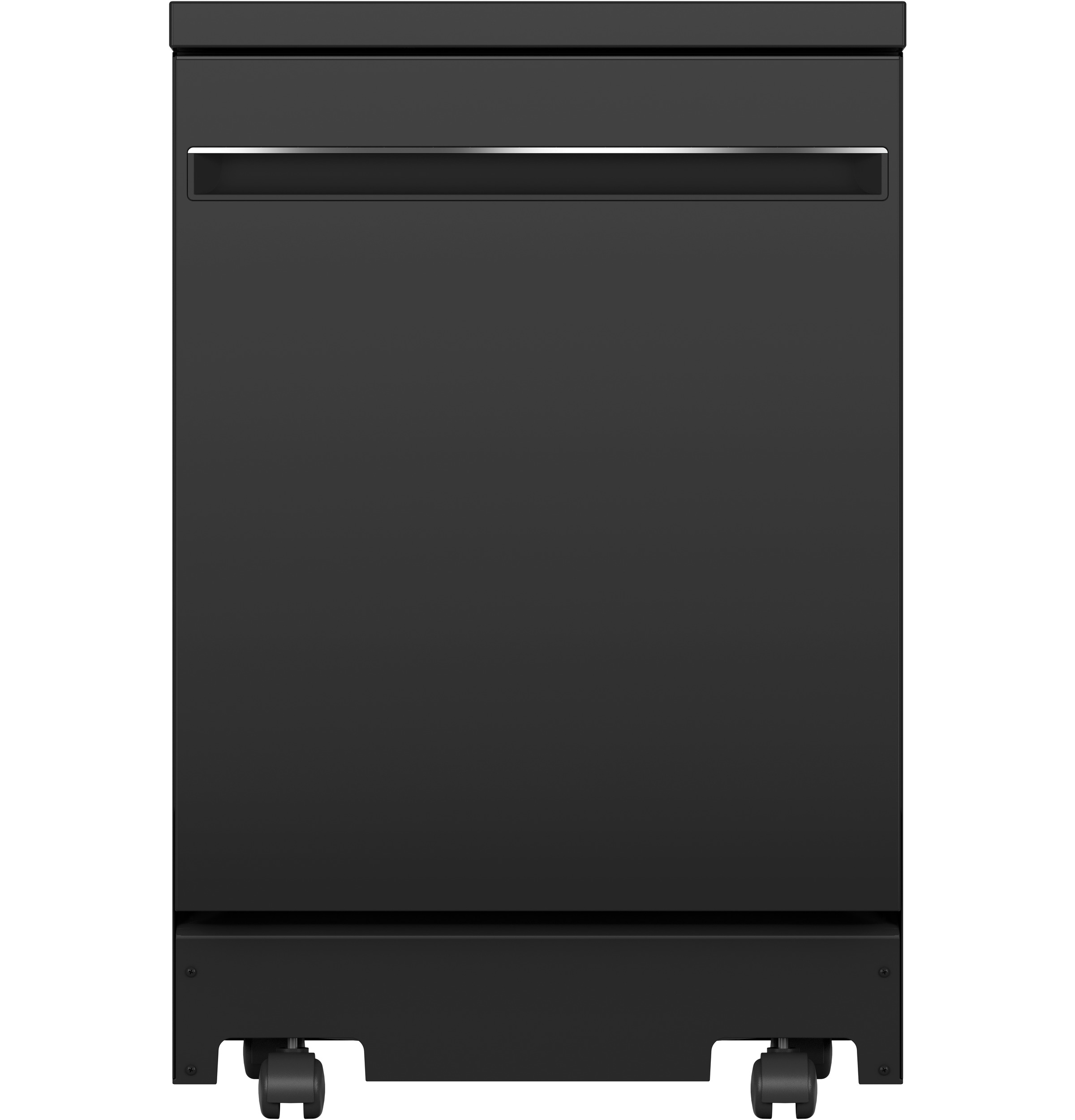 "Model: GPT225SGLBB | GE GE® 24"" Stainless Steel Interior Portable Dishwasher with Sanitize Cycle"