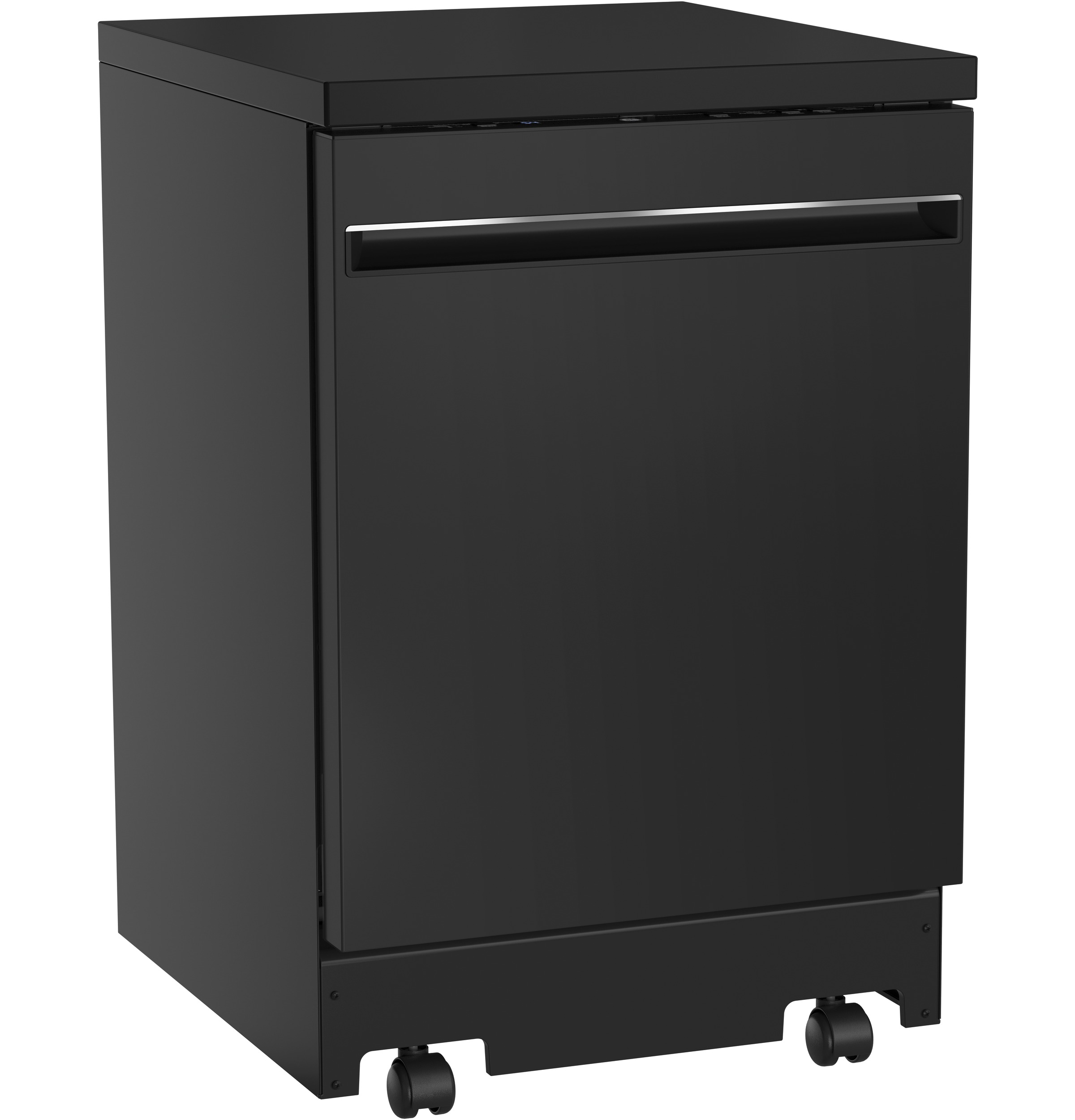 "Model: GPT225SGLBB | GE GE® 24"" Portable Dishwasher"