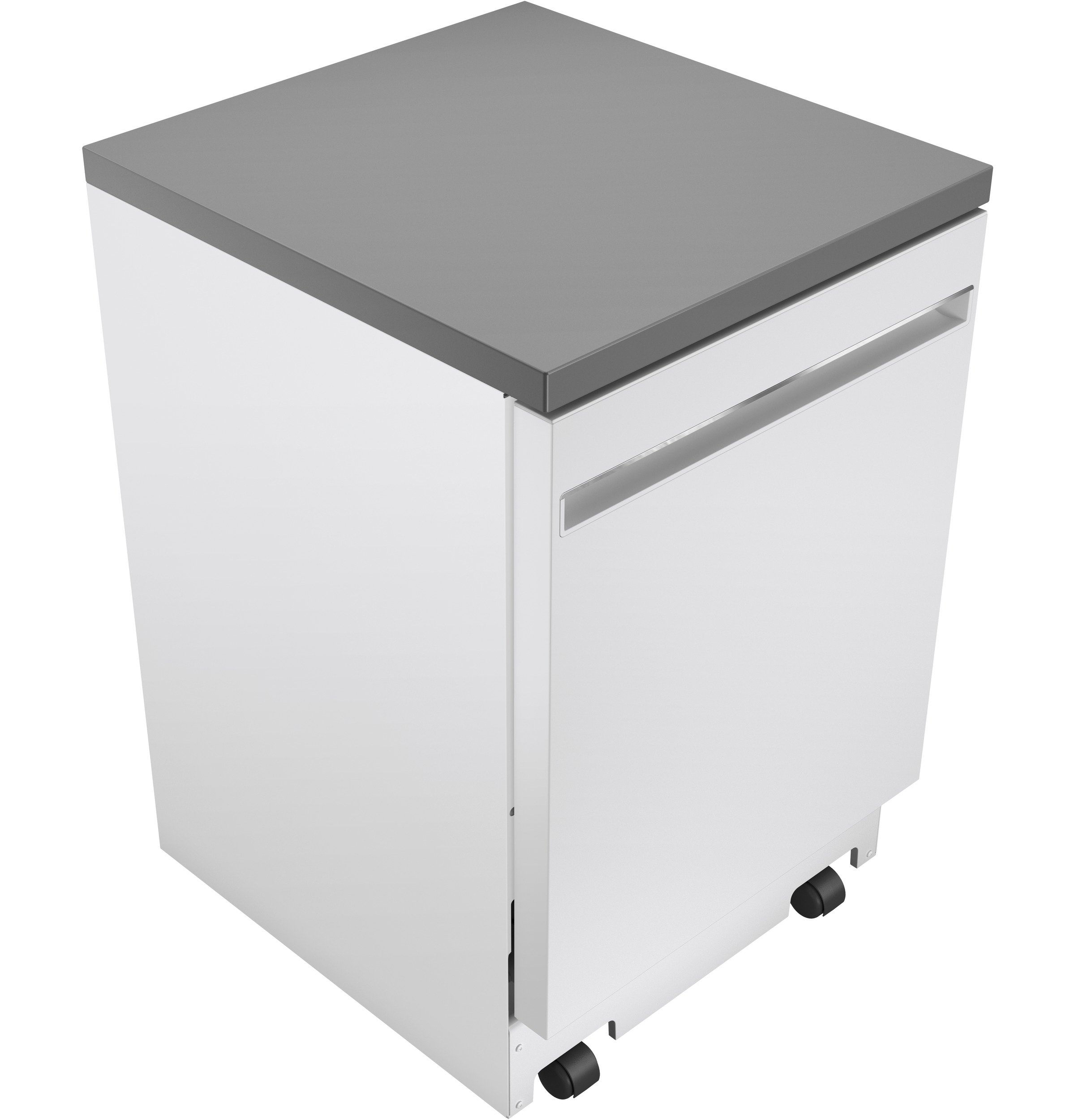 "Model: GPT225SGLWW | GE GE® 24"" Portable Dishwasher"