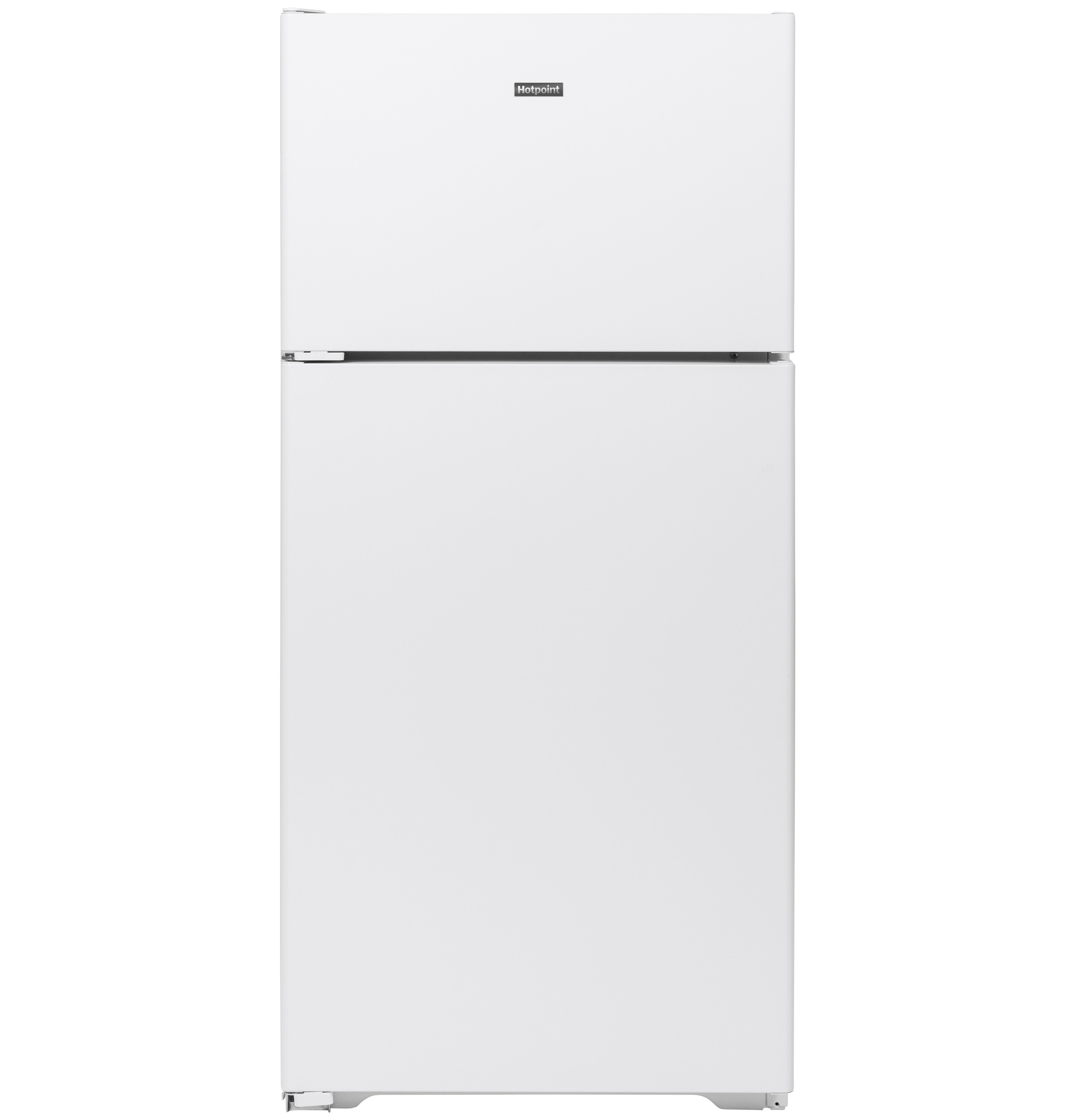 Hotpoint Hotpoint® 15.6 Cu. Ft. Recessed Handle Top-Freezer Refrigerator