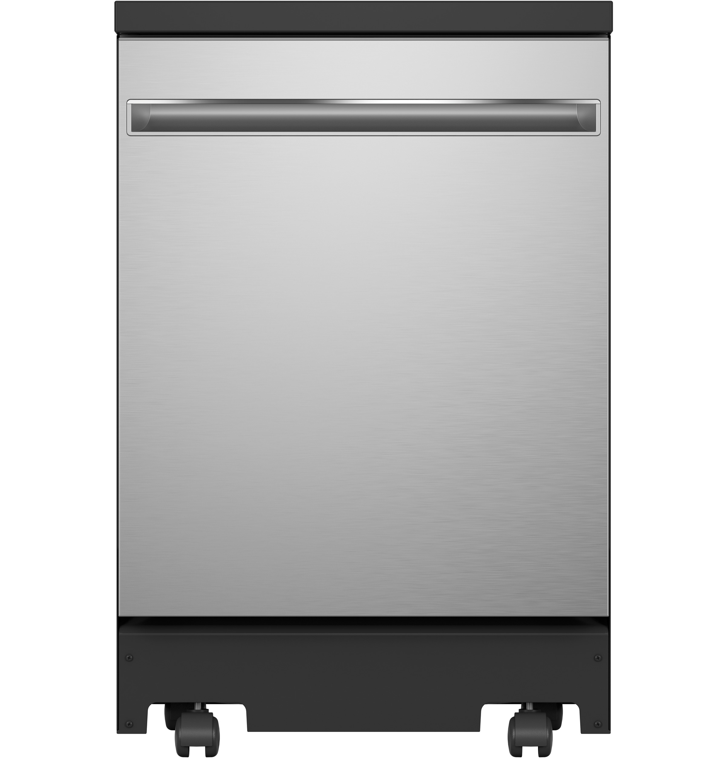 "Model: GPT225SSLSS | GE GE® 24"" Stainless Steel Interior Portable Dishwasher with Sanitize Cycle"
