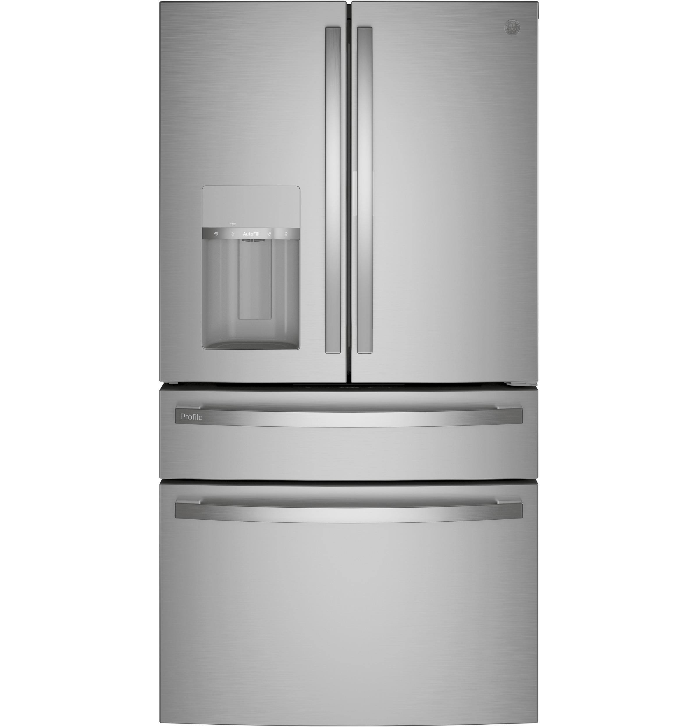 GE GE Profile™ 27.6 Cu. Ft. 4-Door French-Door Refrigerator with Door In Door