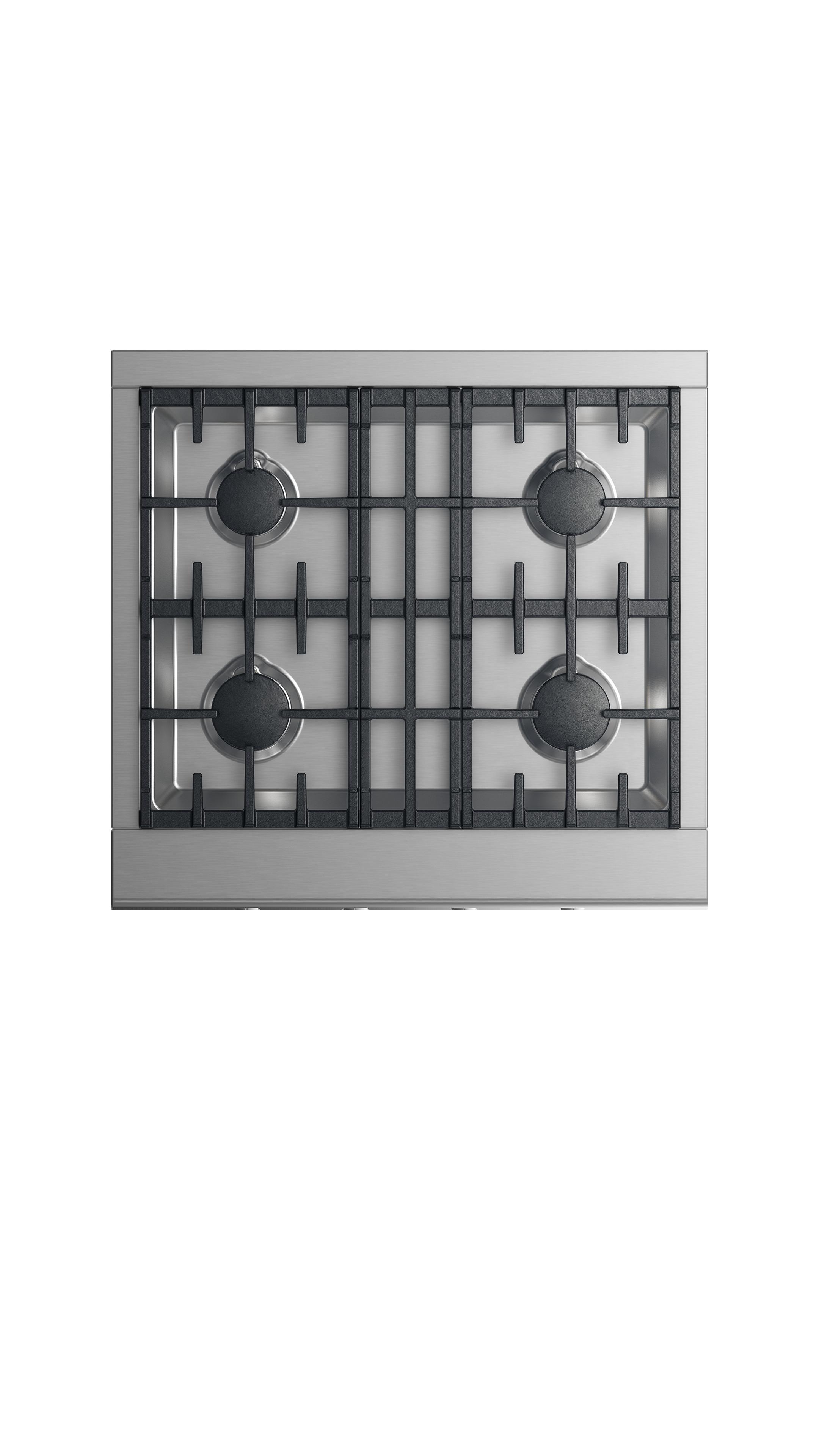 """Model: CPV2-304-N_N   Fisher and Paykel Gas Rangetop 30"""", 4 burners"""