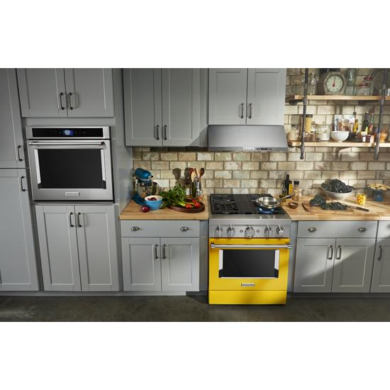 "Model: KODE500ESS | KitchenAid 30"" Double Wall Oven with Even-Heat™ True Convection"