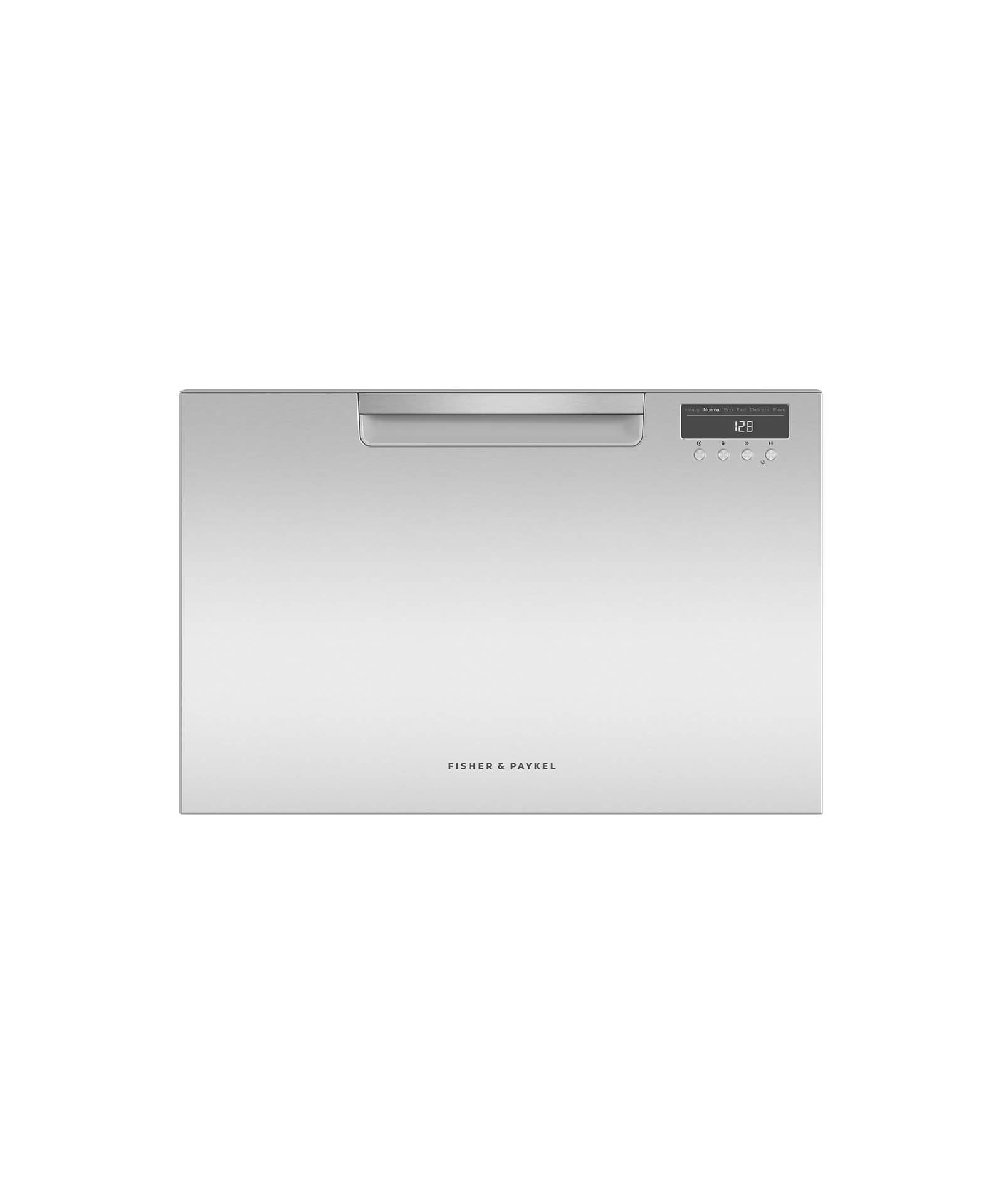 Fisher and Paykel Single DishDrawer™ Dishwasher, 7 Place Settings