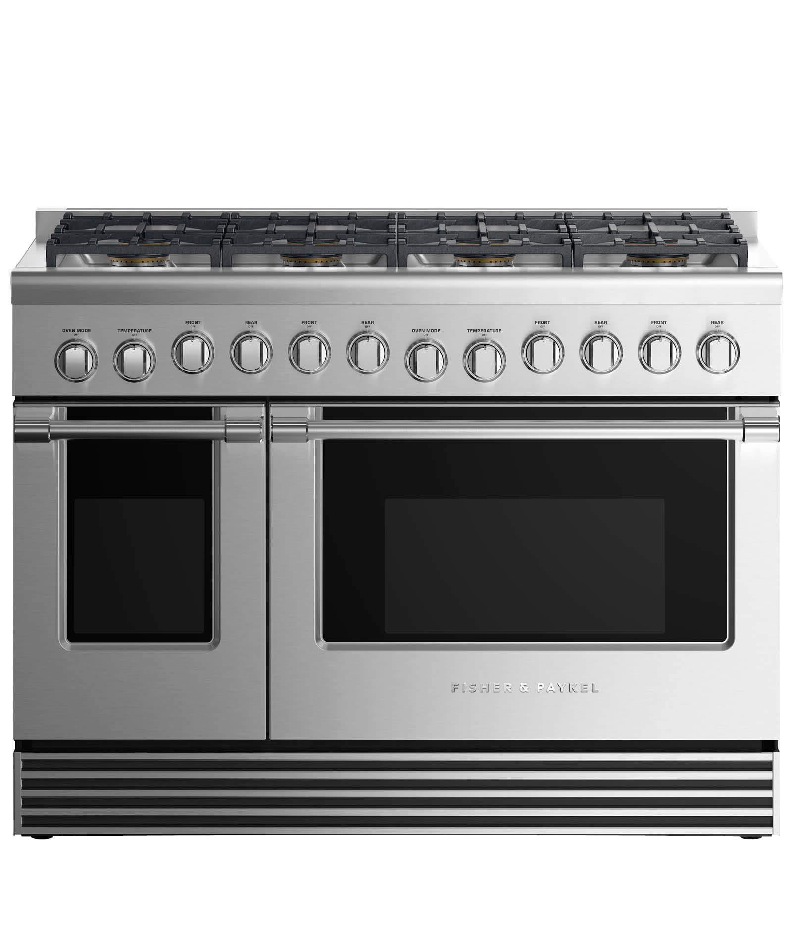 "Fisher and Paykel Dual Fuel Range 48"", 8 Burners"