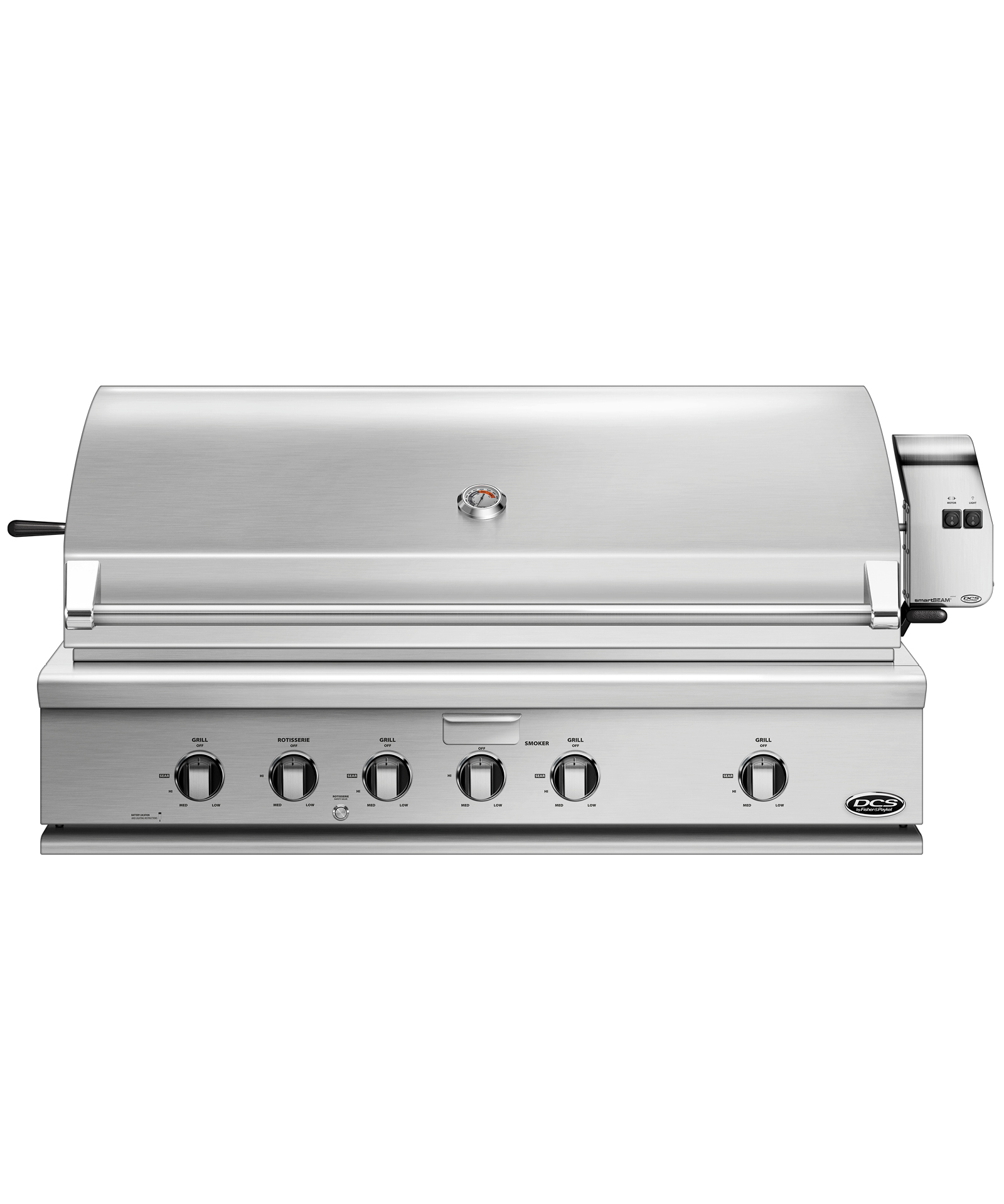 "Model: BH1-48R-L | DCS 48"" Traditional Grill with Rotisserie"