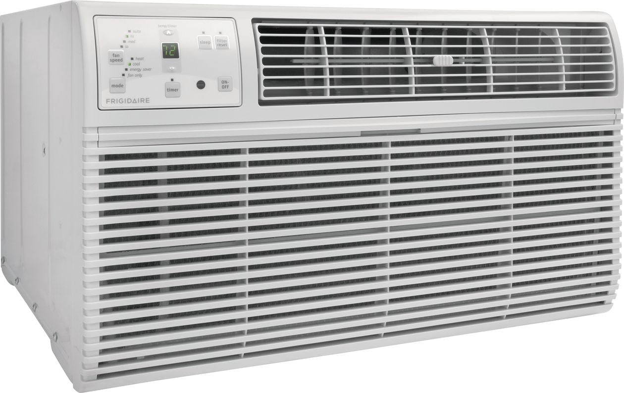 Model: FFTH1022R2 | Frigidaire 10,000 BTU Built-In Room Air Conditioner with Supplemental Heat