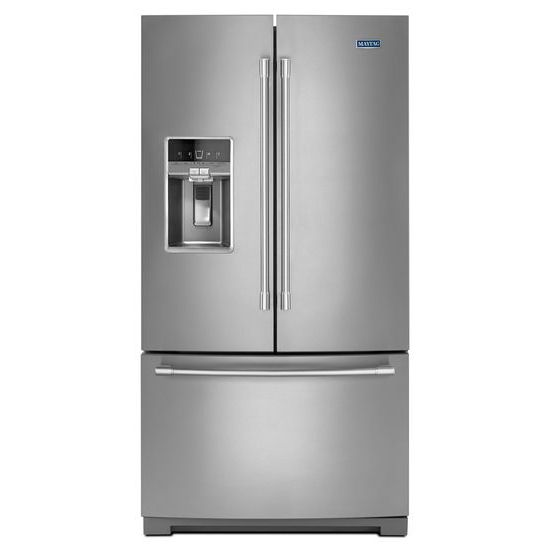 Maytag 36-Inch Wide French Door Refrigerator - 27 Cu. Ft.