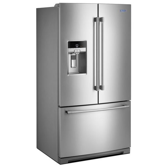 Model: MFT2772HEZ | Maytag 36-Inch Wide French Door Refrigerator - 27 Cu. Ft.