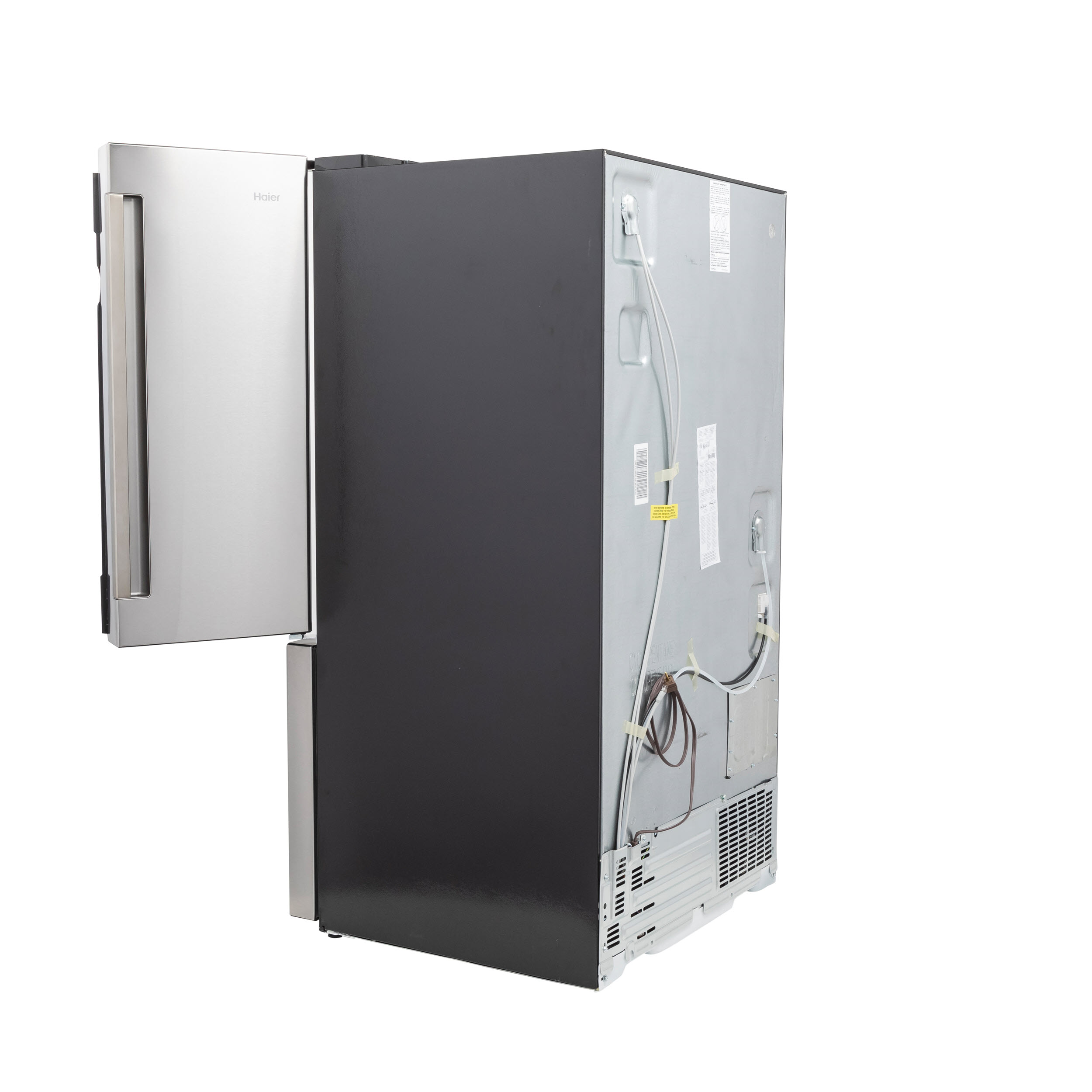 Model: QNE27JSMSS | Haier ENERGY STAR® 27.0 Cu. Ft. French-Door Refrigerator
