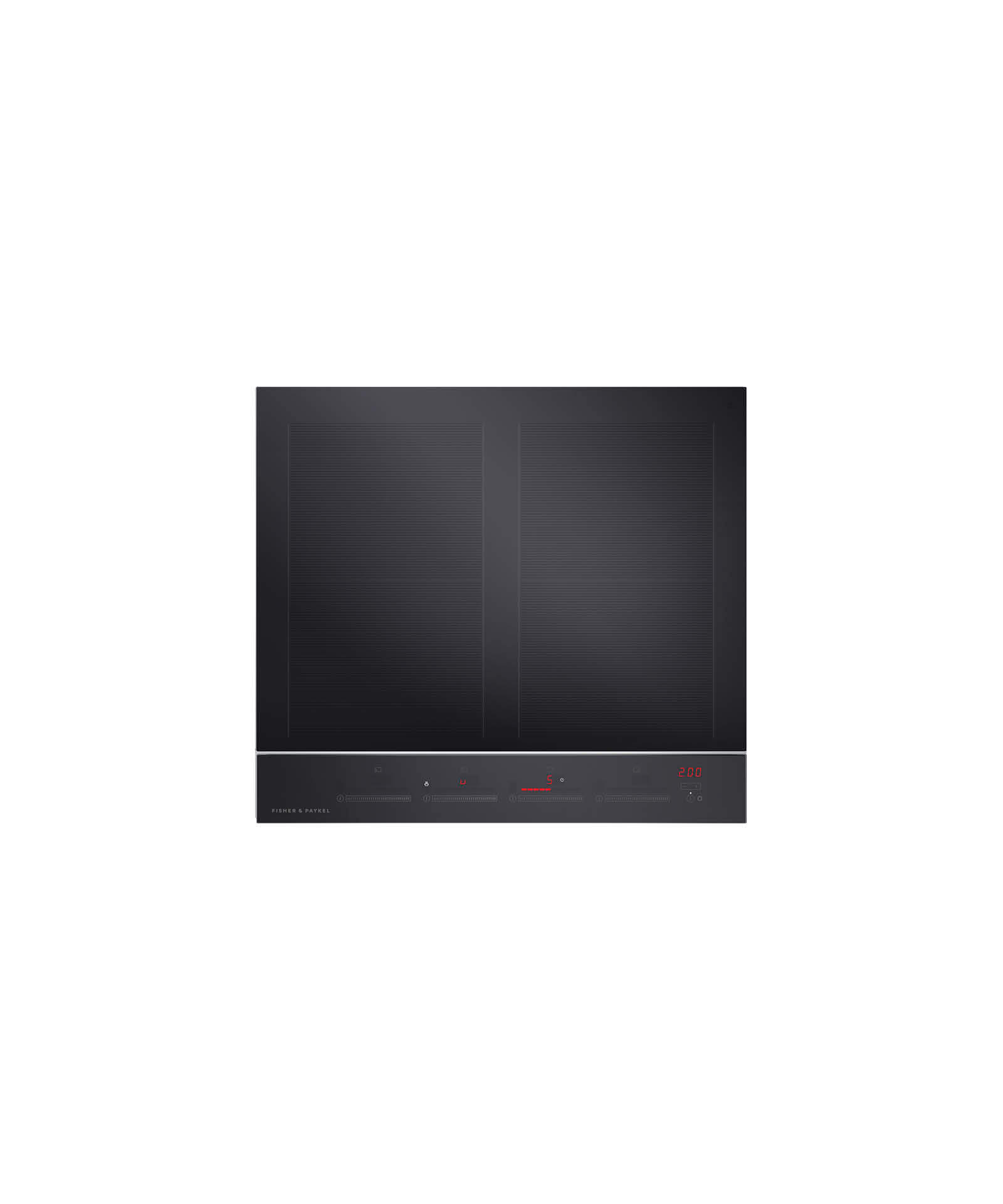 "Fisher and Paykel Induction Cooktop 24"" 4 Zone with SmartZone"