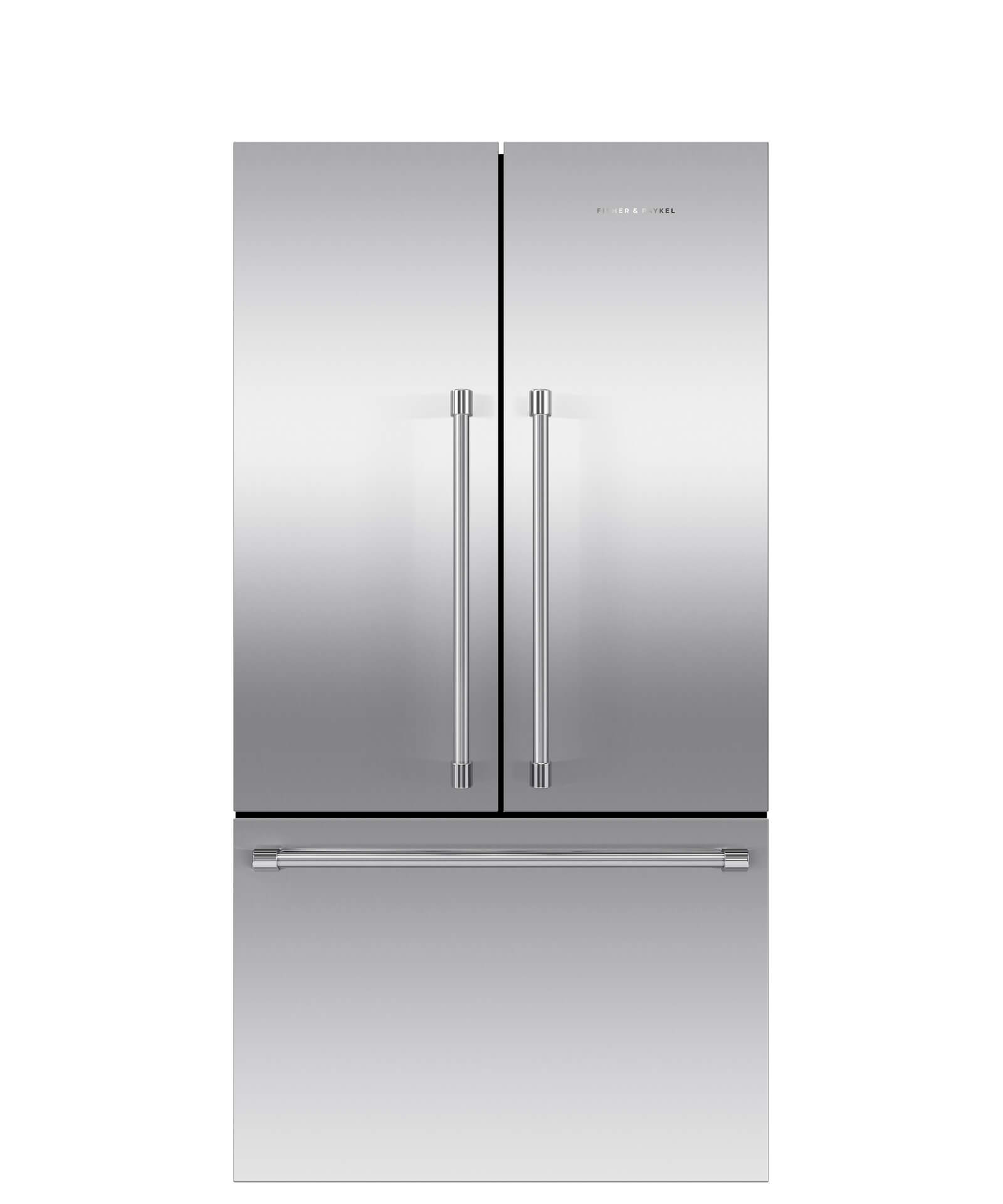 Fisher and Paykel French Door Refrigerator 20.1 cu ft, Ice