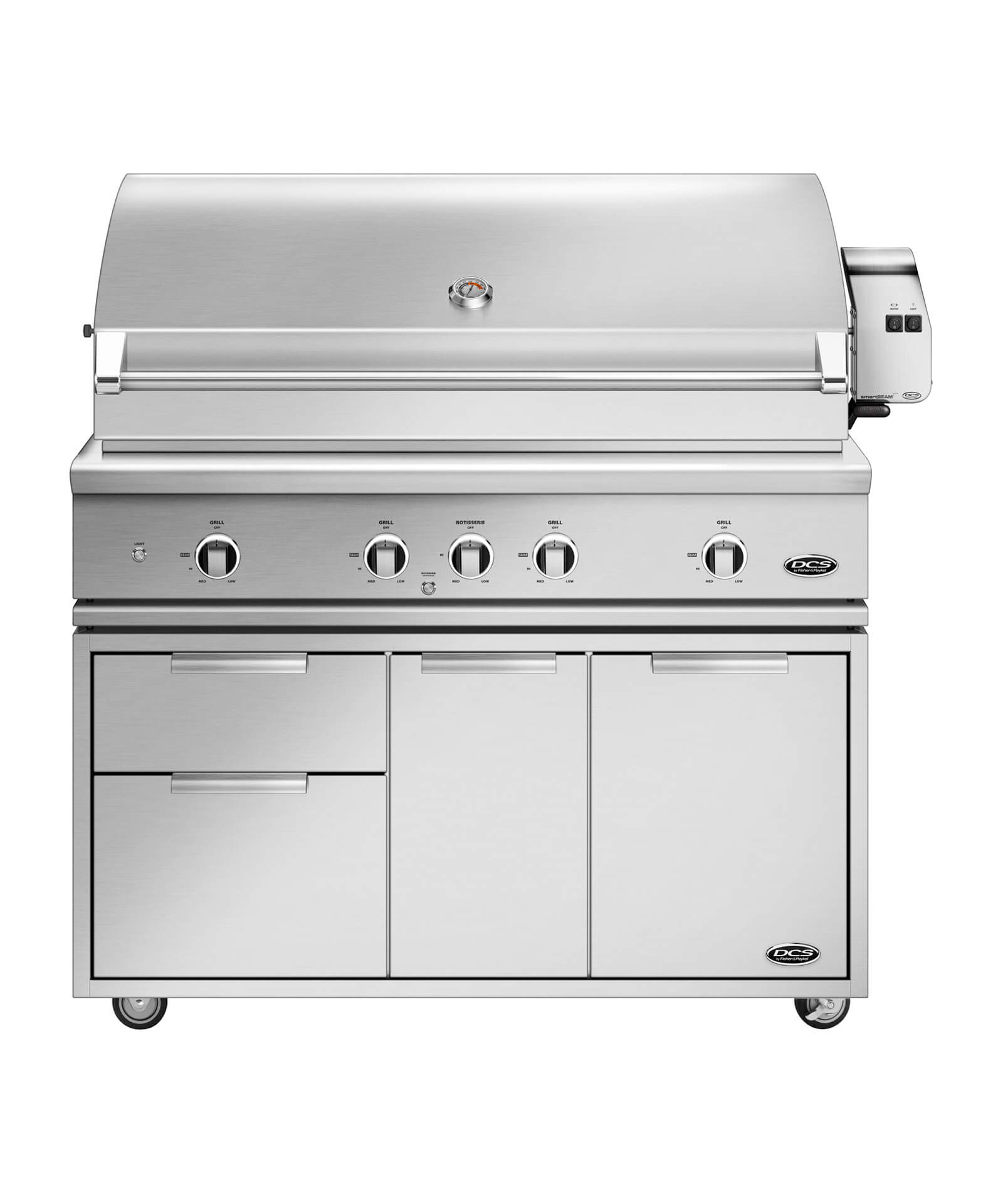"""DCS 48"""" Grill Series 9, Rotisserie and Charcoal"""