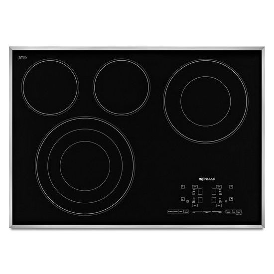 "Jenn-Air Euro-Style 30"" Electric Radiant Cooktop with Glass-Touch Electronic Controls"