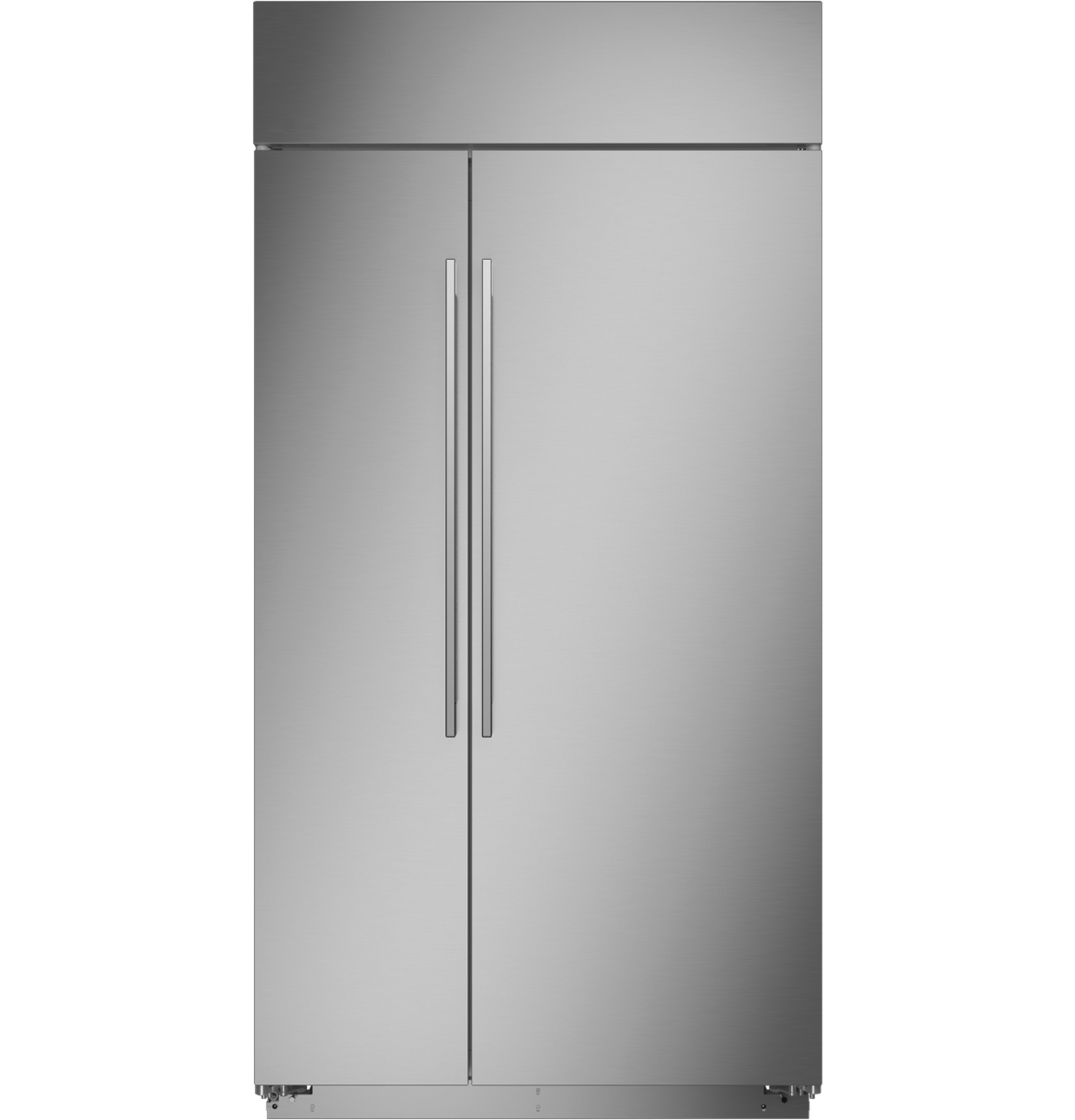 "Monogram Monogram 42"" Smart Built-In Side-by-Side Refrigerator"
