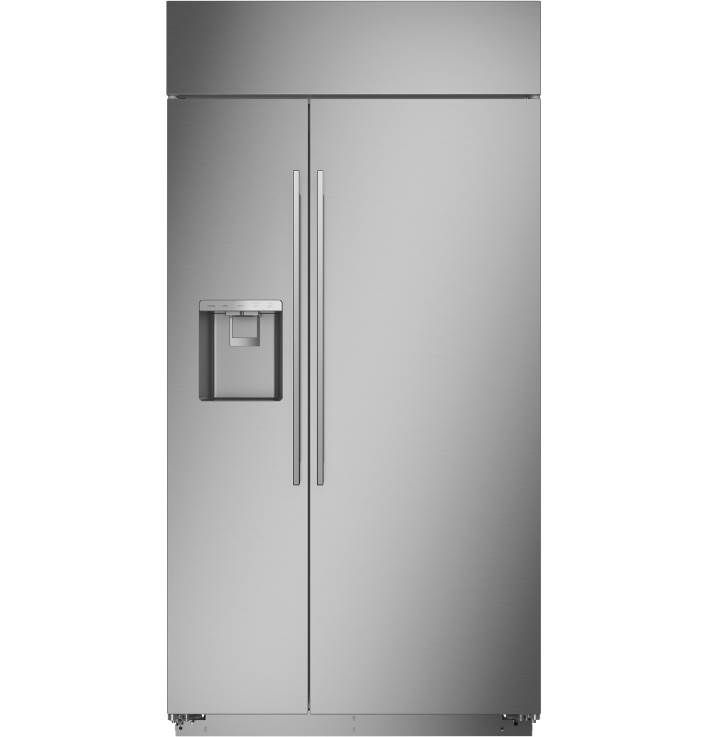 "Monogram Monogram 42"" Smart Built-In Side-by-Side Refrigerator with Dispenser"