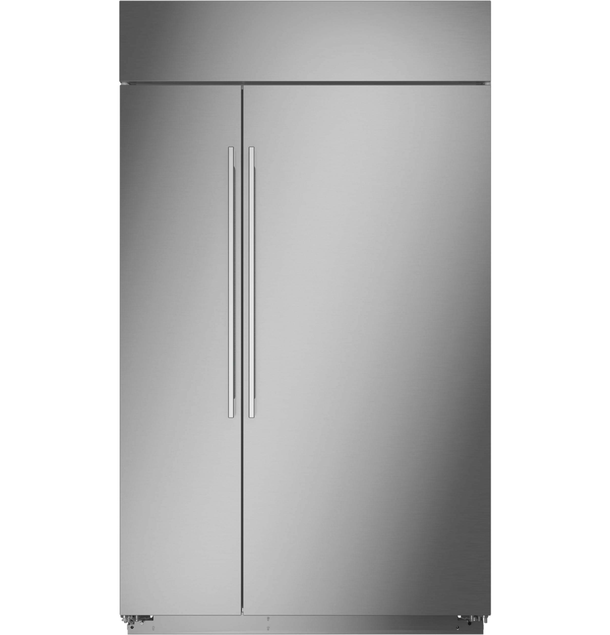 "Monogram Monogram 48"" Smart Built-In Side-by-Side Refrigerator"