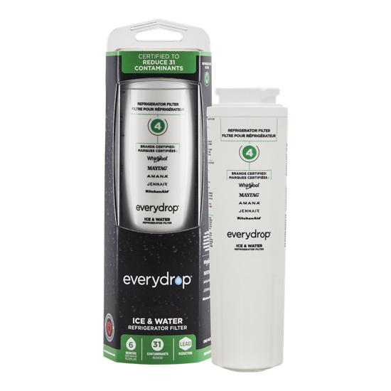 EveryDrop everydrop® Refrigerator Water Filter 4 - EDR4RXD1 (Pack of 1)