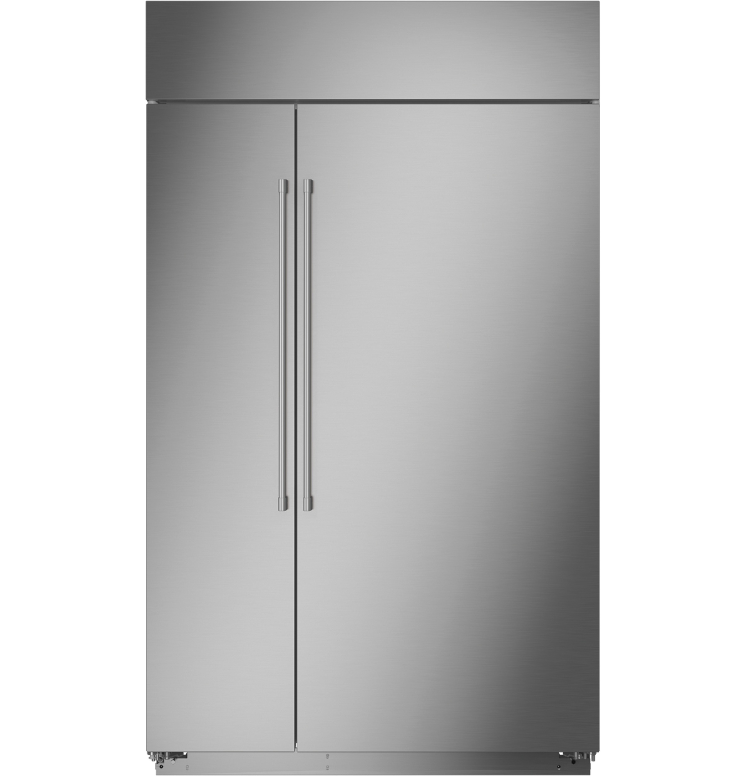 "Model: ZISS480NNSS | Monogram Monogram 48"" Smart Built-In Side-by-Side Refrigerator"