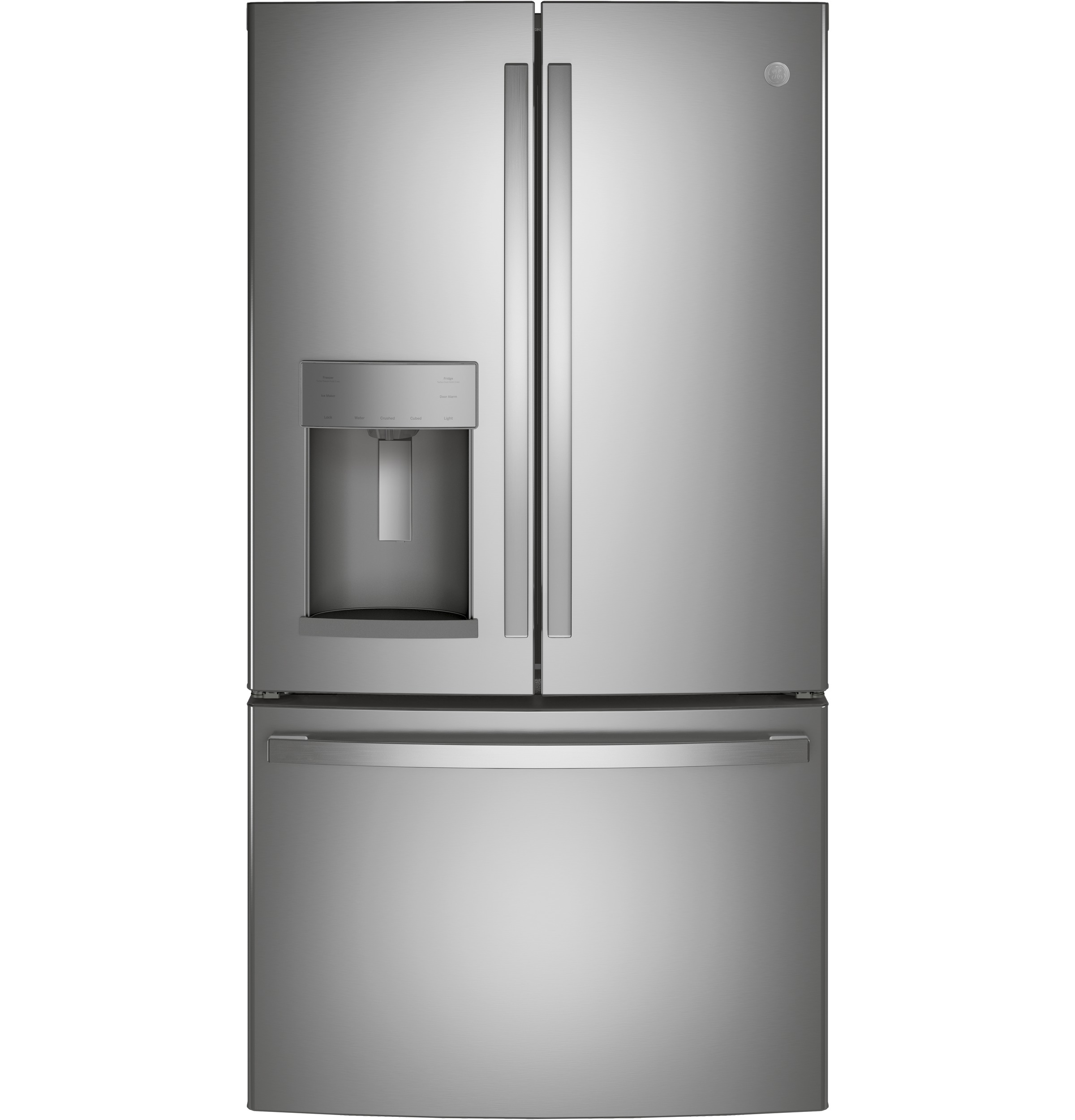 GE GE® 27.7 Cu. Ft. Fingerprint Resistant French-Door Refrigerator with Door In Door