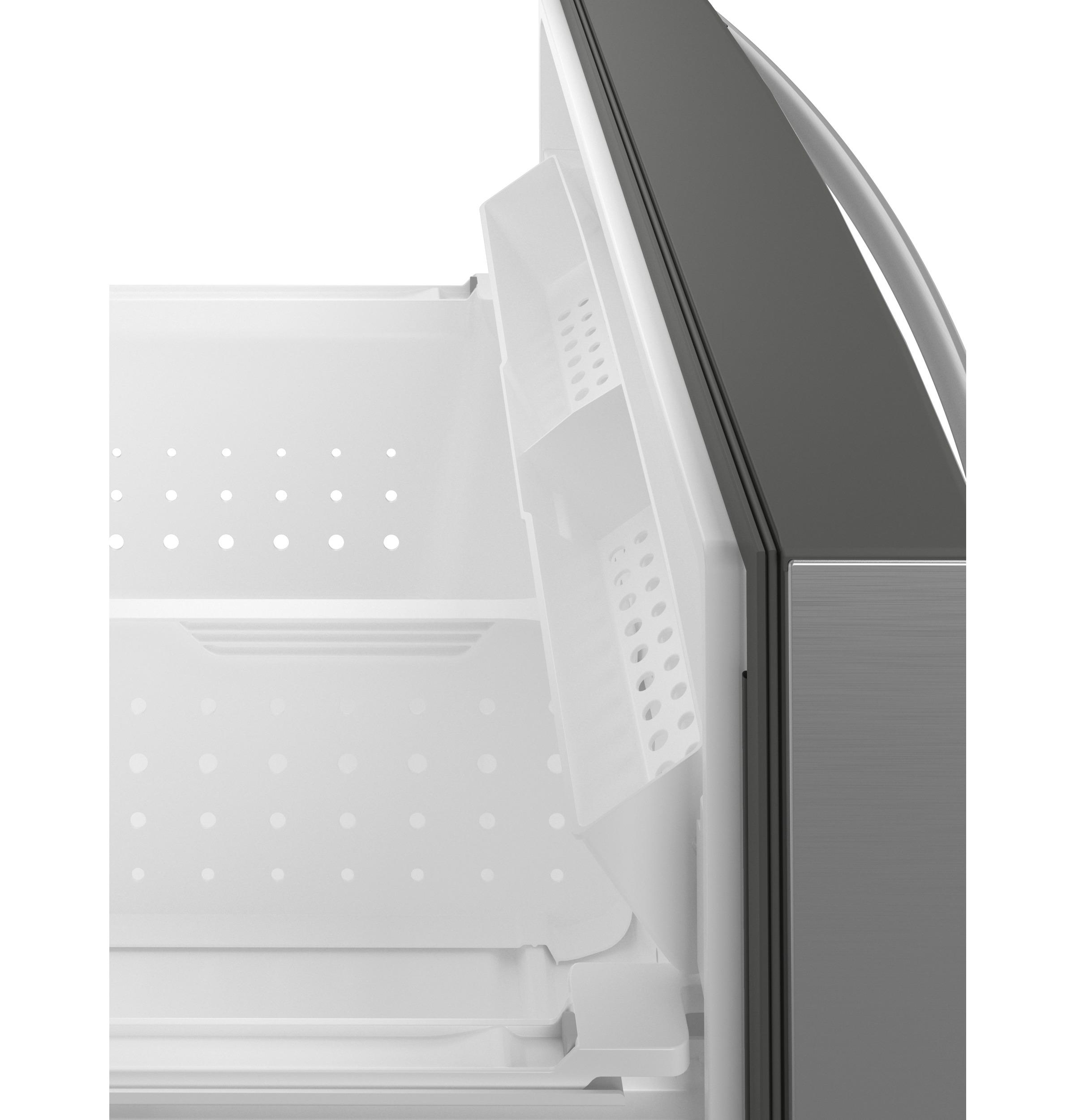 Model: PVD28BYNFS | GE Profile GE Profile™ 27.9 Cu. Ft. Smart Fingerprint Resistant 4-Door French-Door Refrigerator with Door In Door