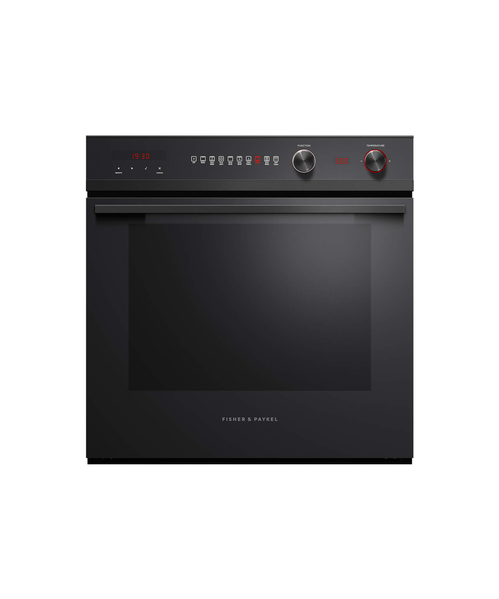 "Fisher and Paykel Built-in Oven, 24"" 3 cu ft, 9 Function, Self-cleaning"