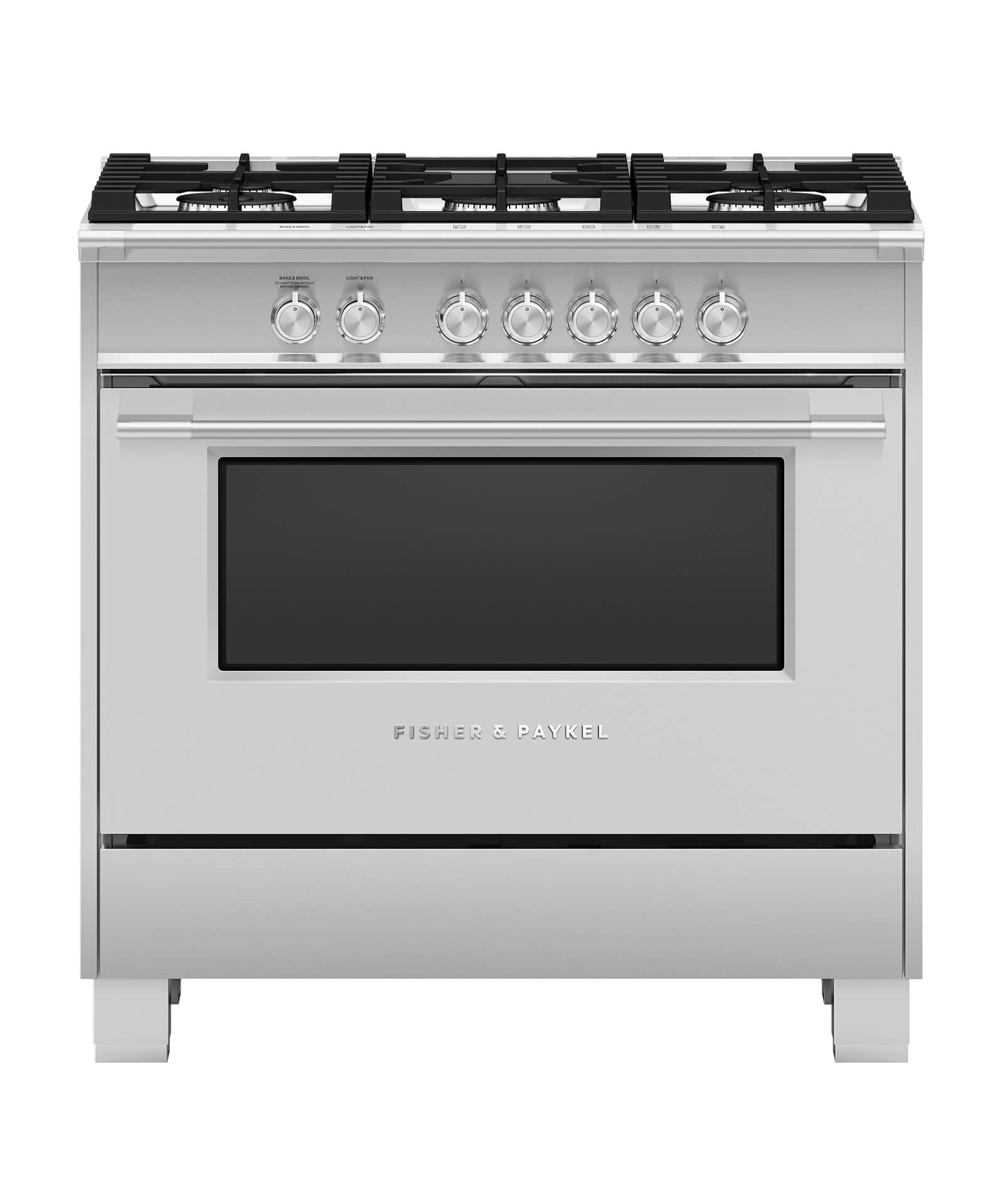 """Fisher and Paykel Gas Range, 36"""""""