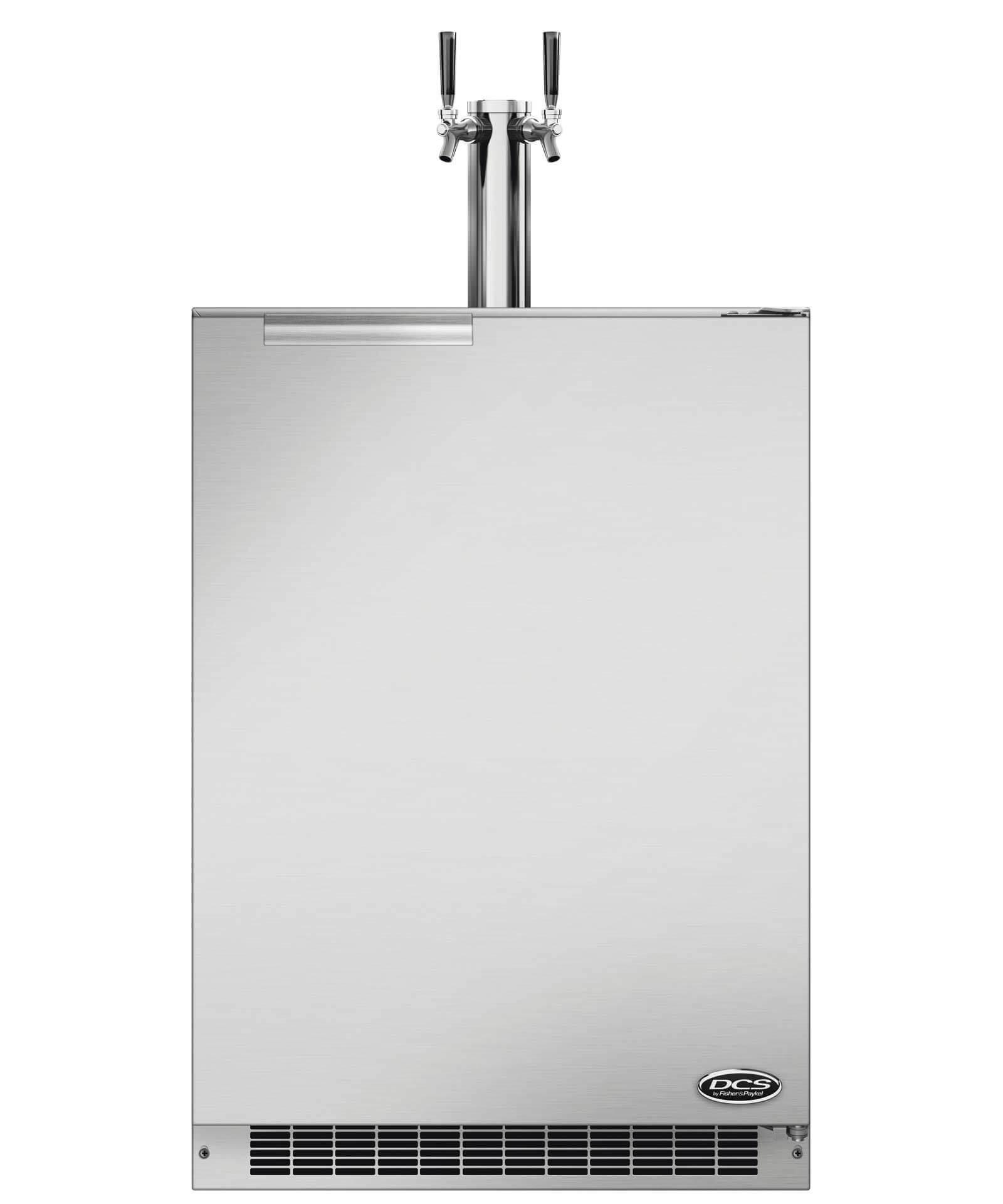 """DCS 24"""" Outdoor Beer Dispenser - Dual Tap"""