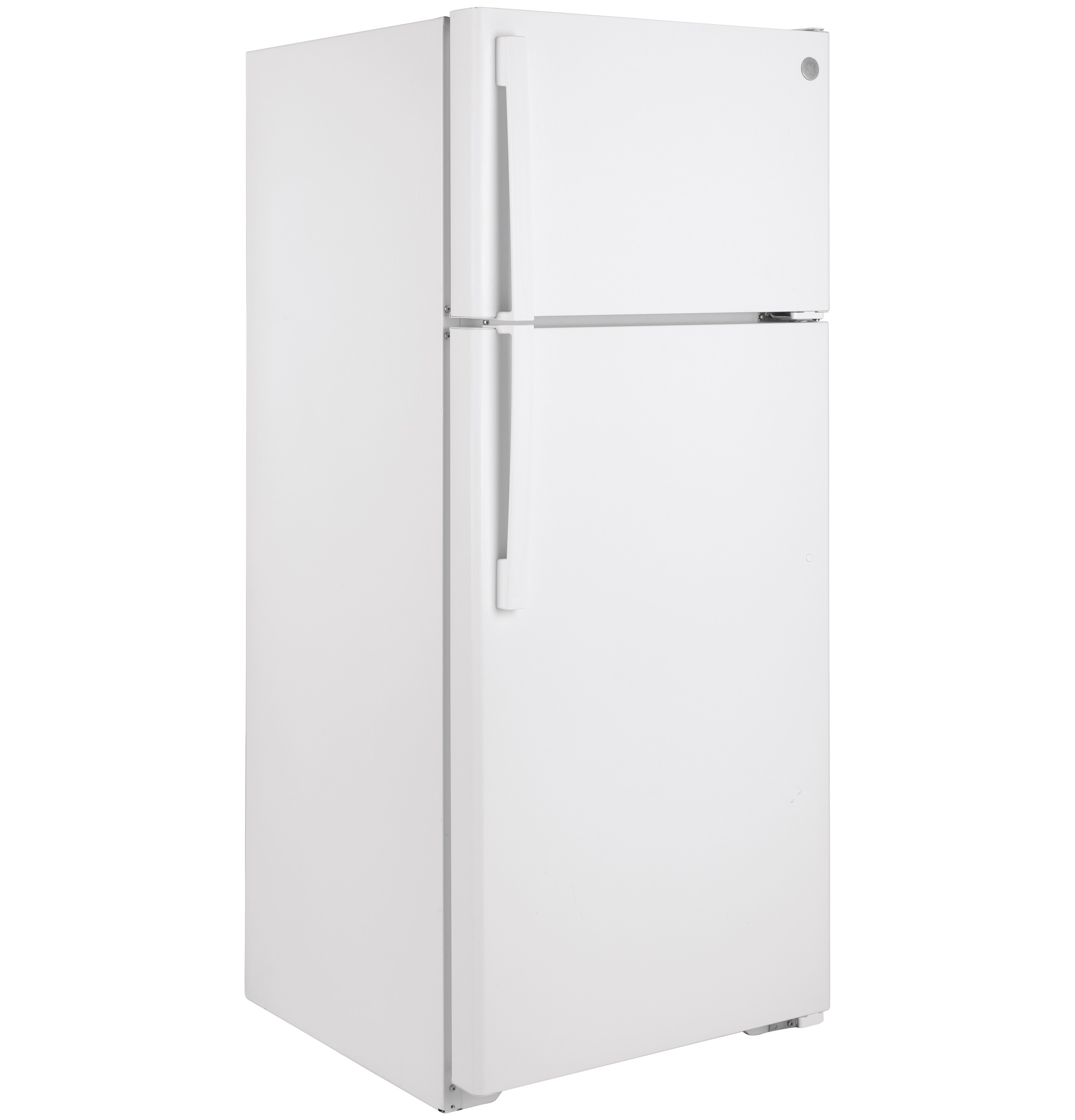 Model: GIE18GTNRWW   GE GE® ENERGY STAR® 17.5 Cu. Ft. Top-Freezer Refrigerator