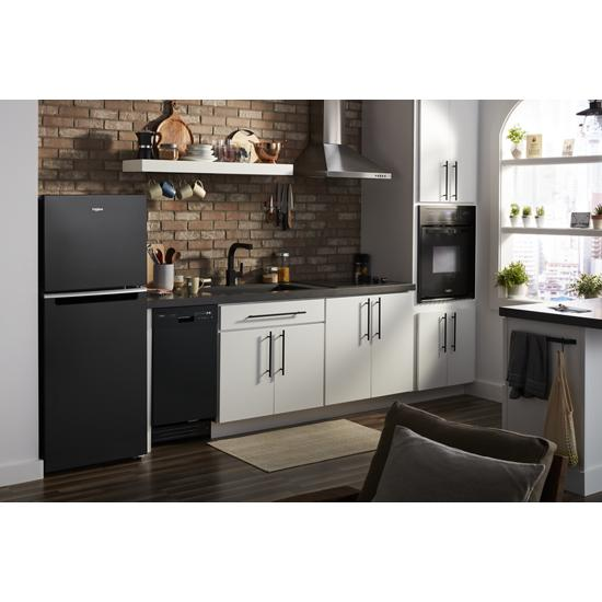 Model: WDF518SAHB | Whirlpool Small-Space Compact Dishwasher with Stainless Steel Tub