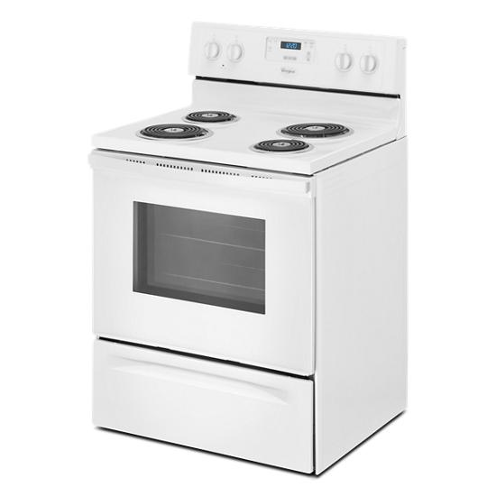Model: WFC150M0EW | Whirlpool 4.8 Cu. Ft. Freestanding Counter Depth Electric Range