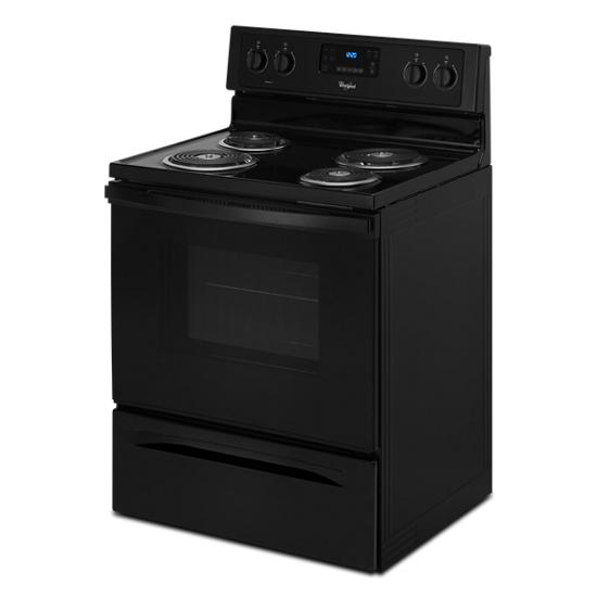 Model: WFC310S0EB | Whirlpool 4.8 Cu. Ft. Freestanding Electric Range with AccuBake® System