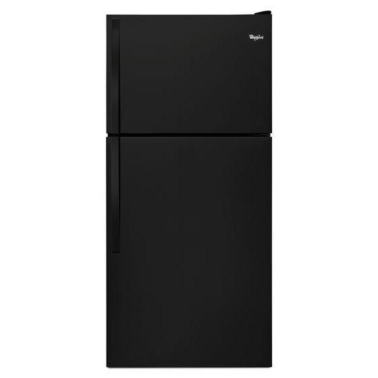 "Model: WRT148FZDB | Whirlpool 30"" Wide Top-Freezer Refrigerator"