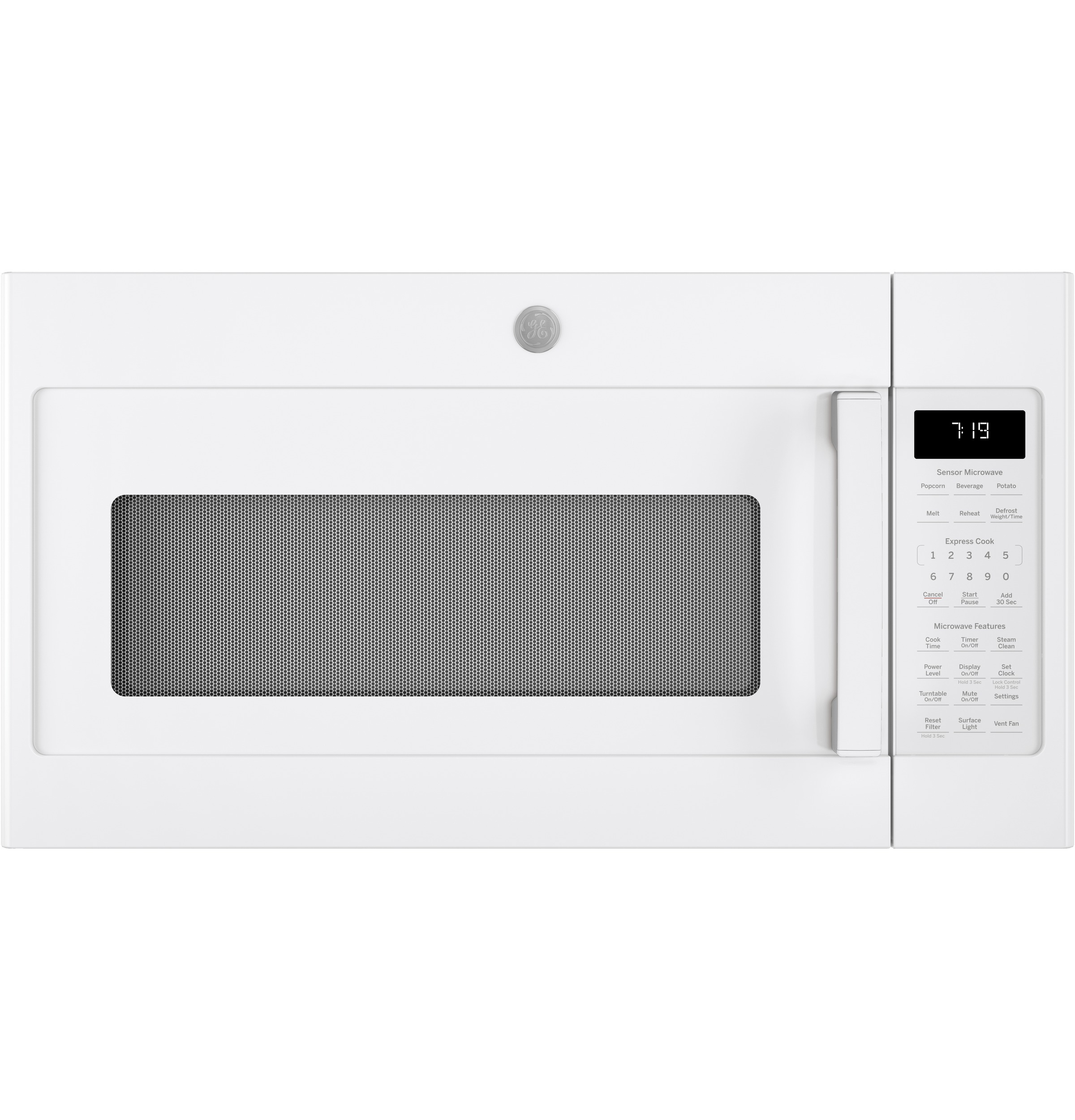 GE GE® 1.9 Cu. Ft. Over-the-Range Sensor Microwave Oven