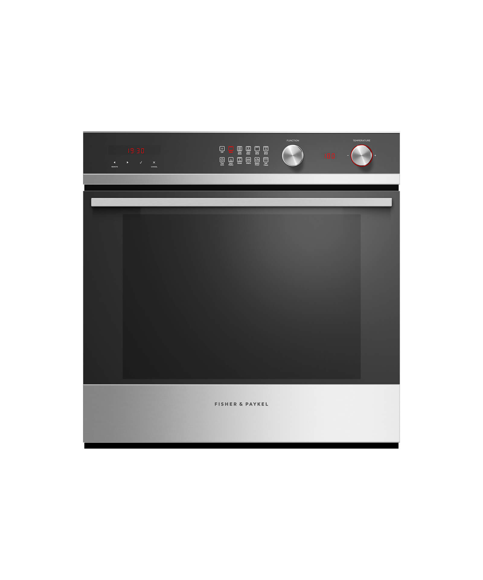 """Fisher and Paykel 24"""" Wall Oven  3 cu ft, 11 Function, Self-cleaning"""