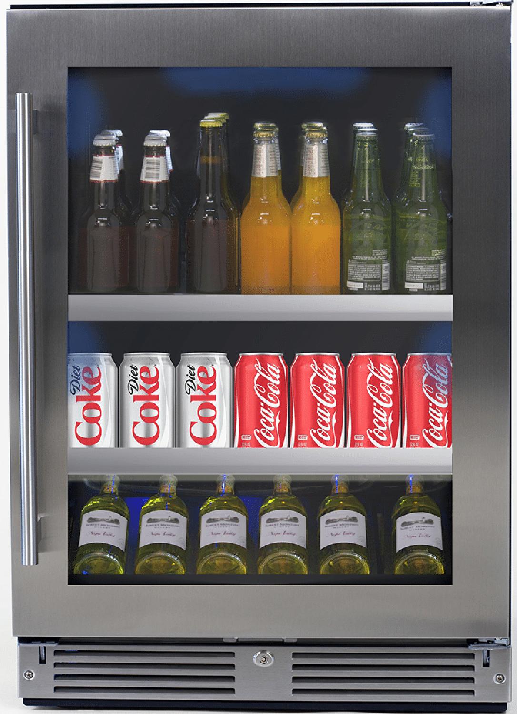 "XO Ventilation 24"" Beverage Center - Right Hinge"