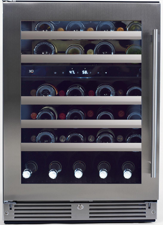 XO Appliances  24? Undercounter Dual Zone Wine Cooler- Left Hinge
