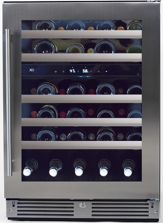 XO Appliances  24? Undercounter Dual Zone Wine Cooler - Right Hinge