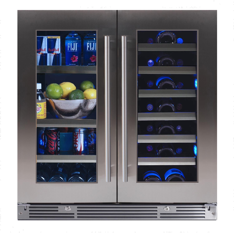 """XO Ventilation 30"""" Beverage/Wine Double Door"""