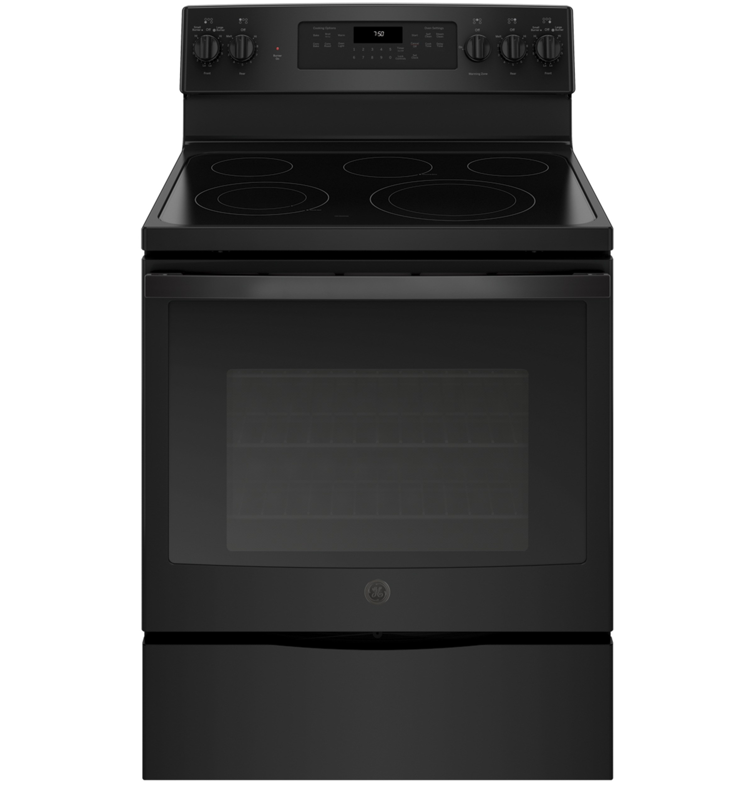 "GE GE® 30"" Free-Standing Electric Convection Range"