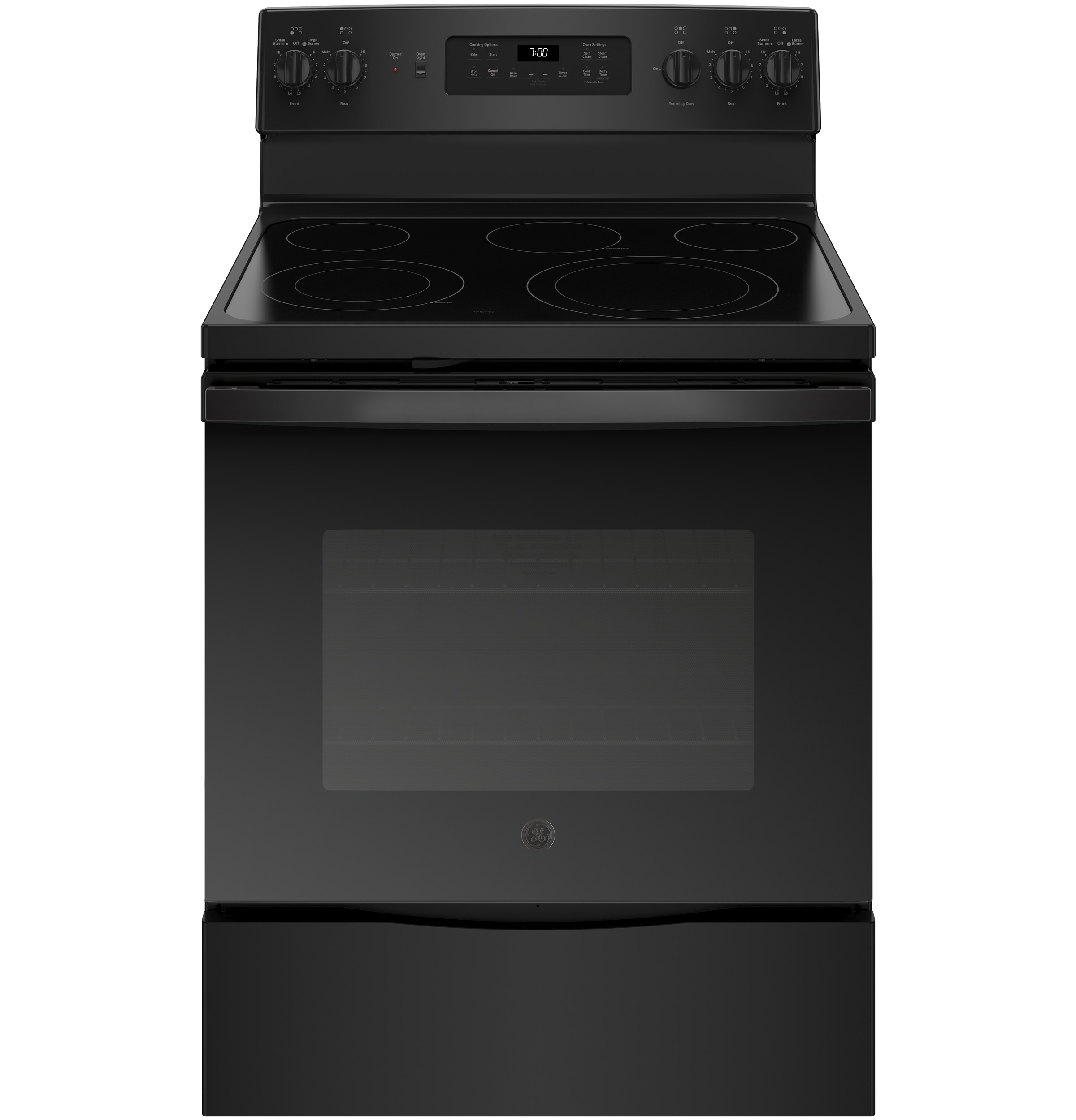 """GE GE® 30"""" Free-Standing Electric Convection Range"""