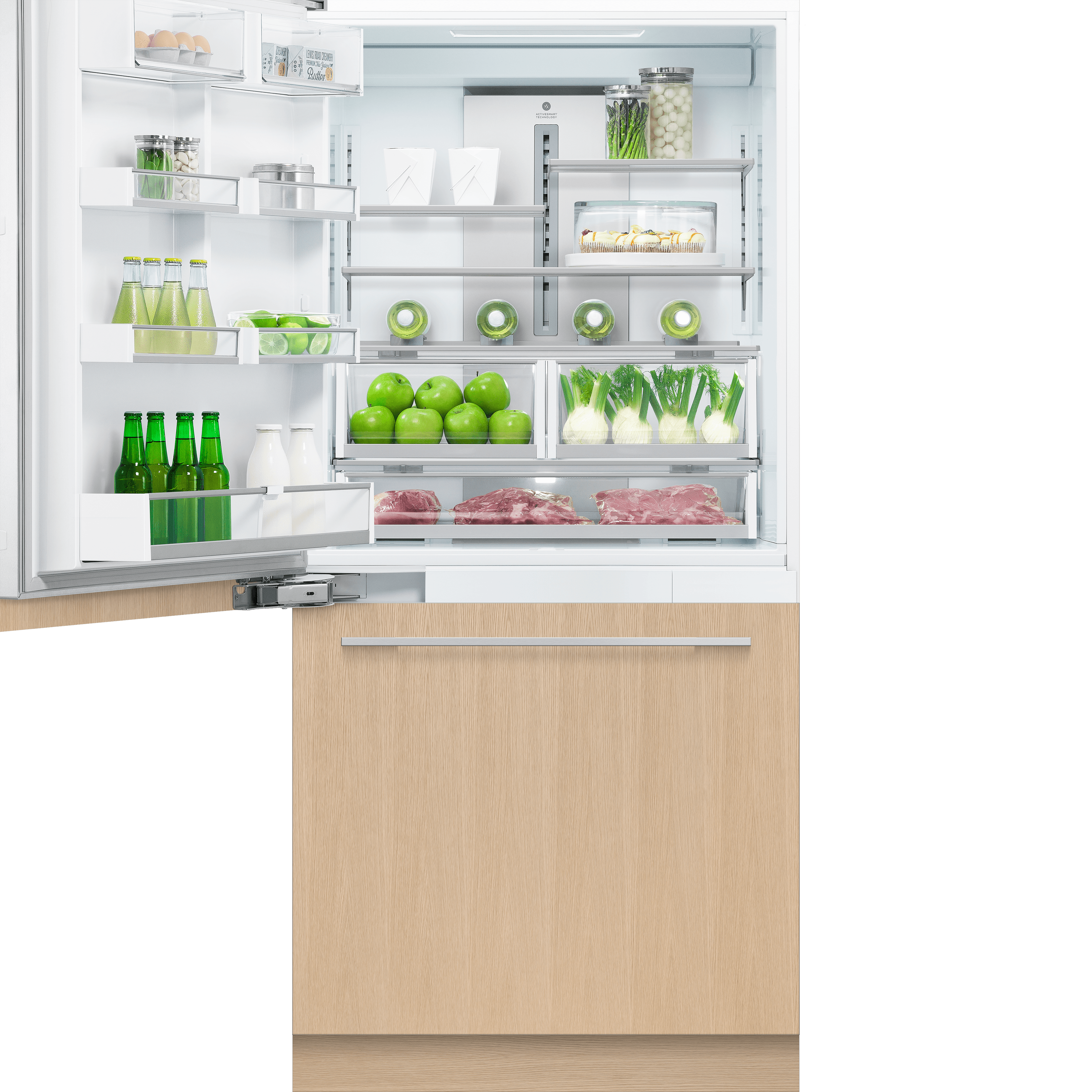 Model: RS36W80LJ1_N   Fisher and Paykel Integrated Refrigerator 16.8cu ft, Ice