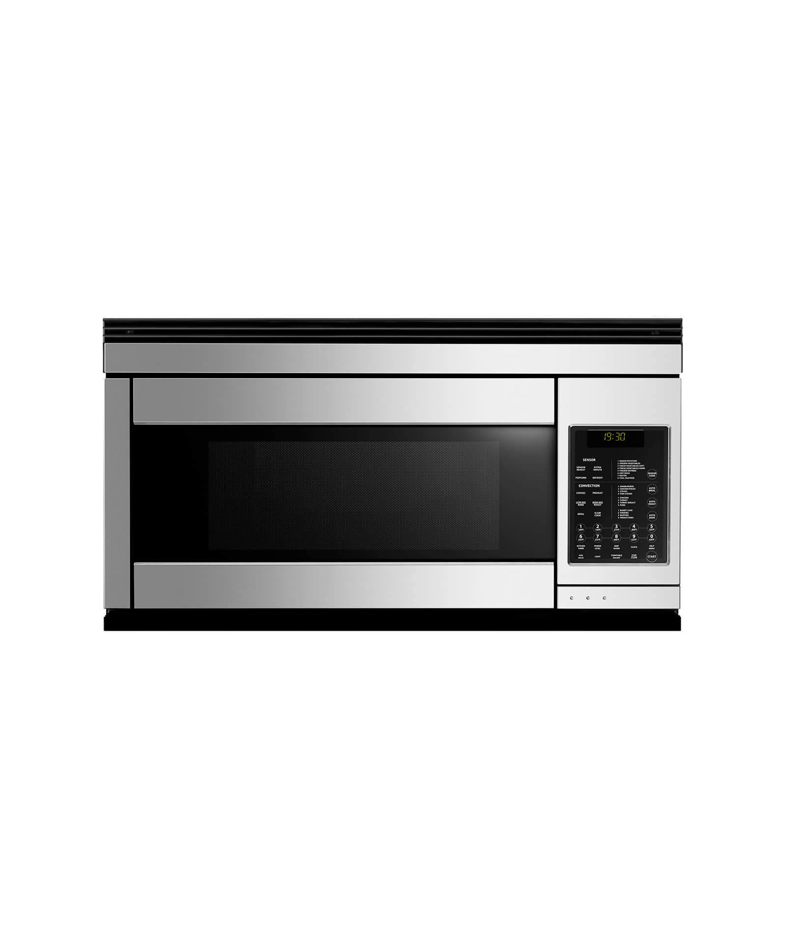 "Fisher and Paykel 30"" Over the Range Microwave"