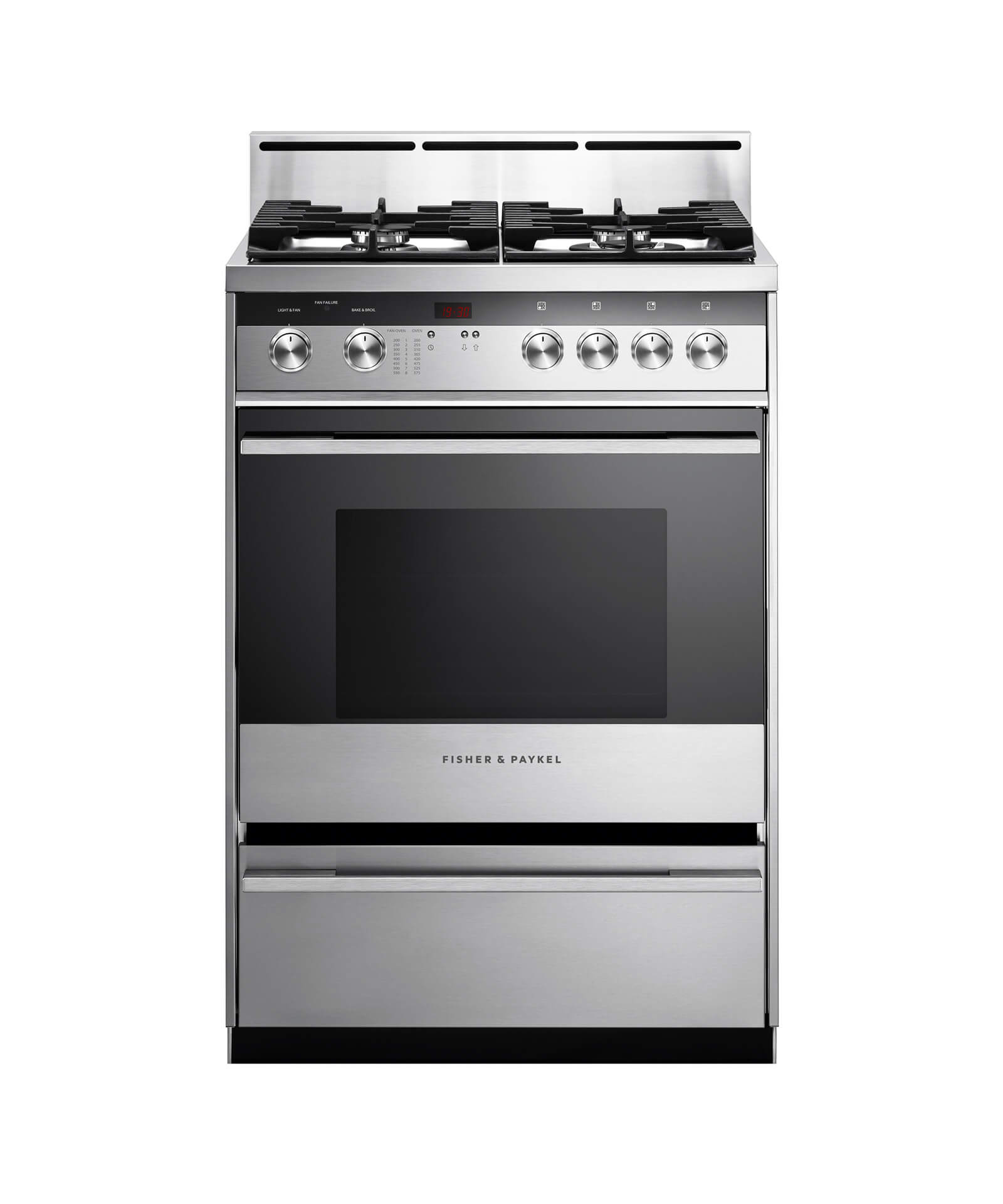 Fisher and Paykel Gas Range, 24""