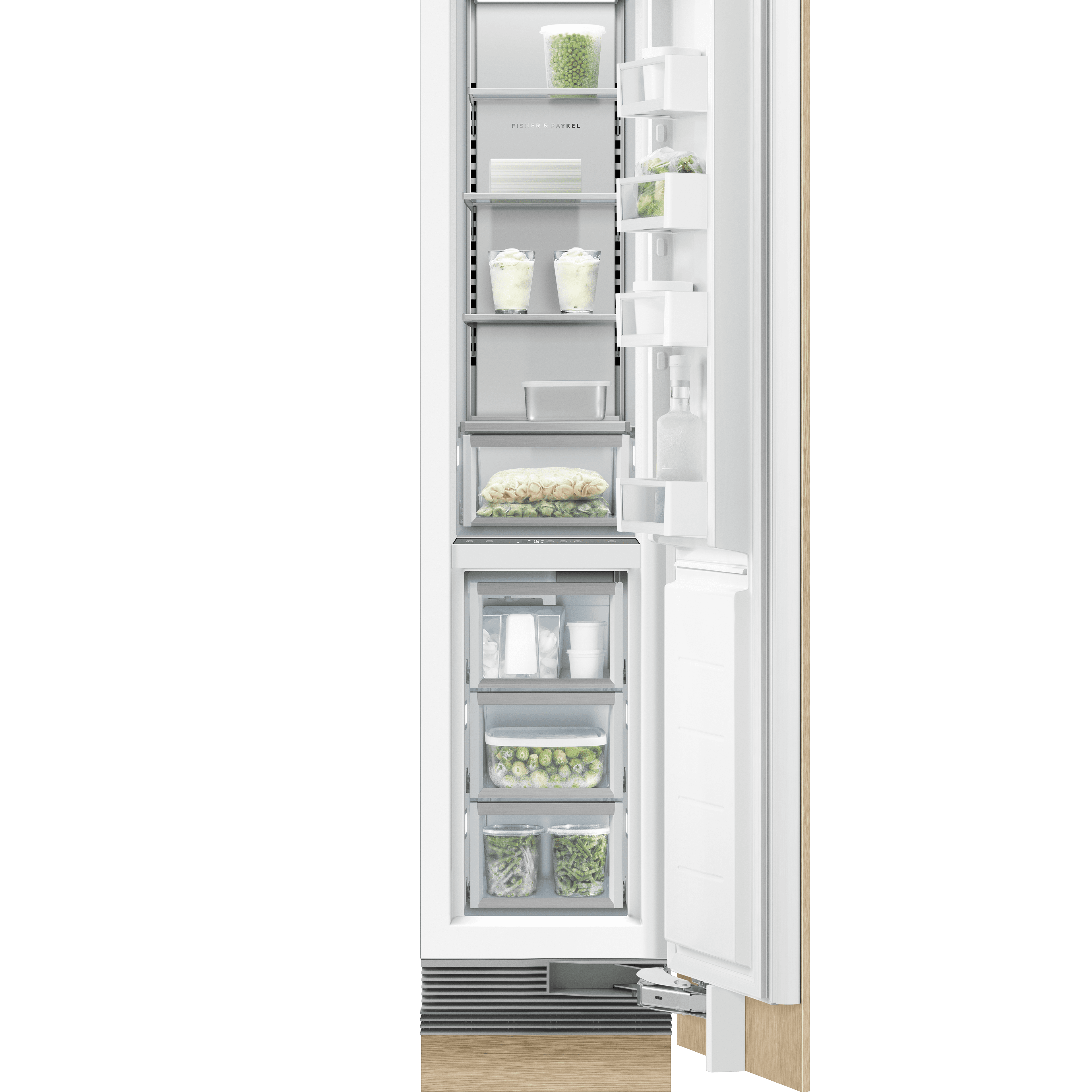 """Model: RS1884FRJ1   Fisher and Paykel Integrated Column Freezer 18"""""""