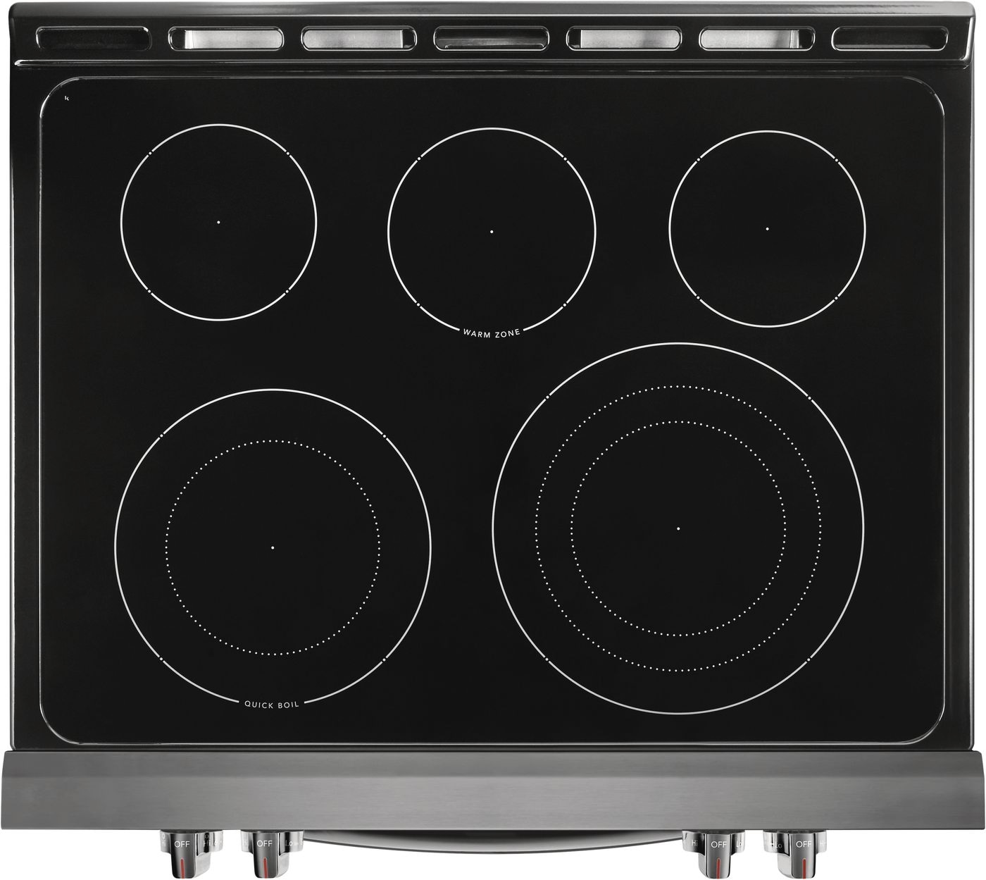 """Frigidaire Gallery 30"""" Front Control Electric Range with Air Fry"""