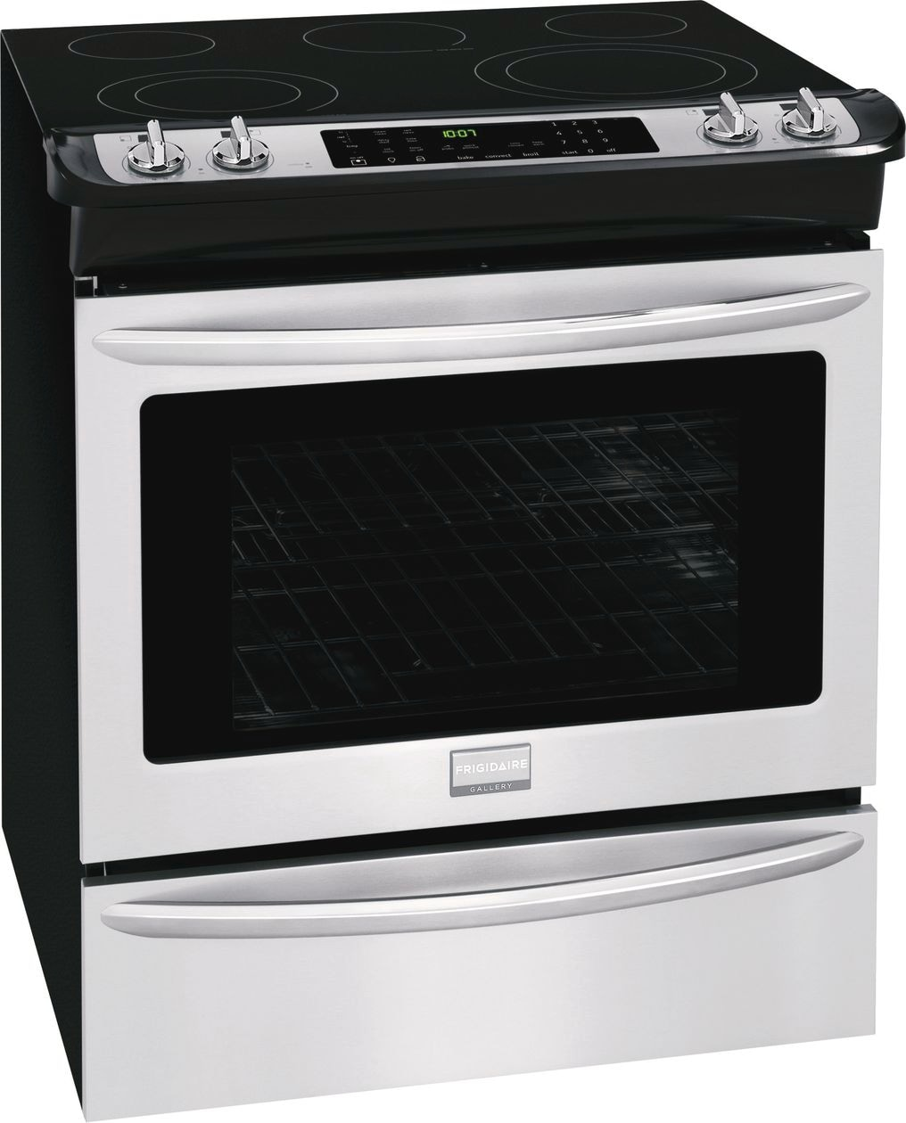 "Model: FGES3065PF | Frigidaire Gallery 30"" Slide-In Electric Range"