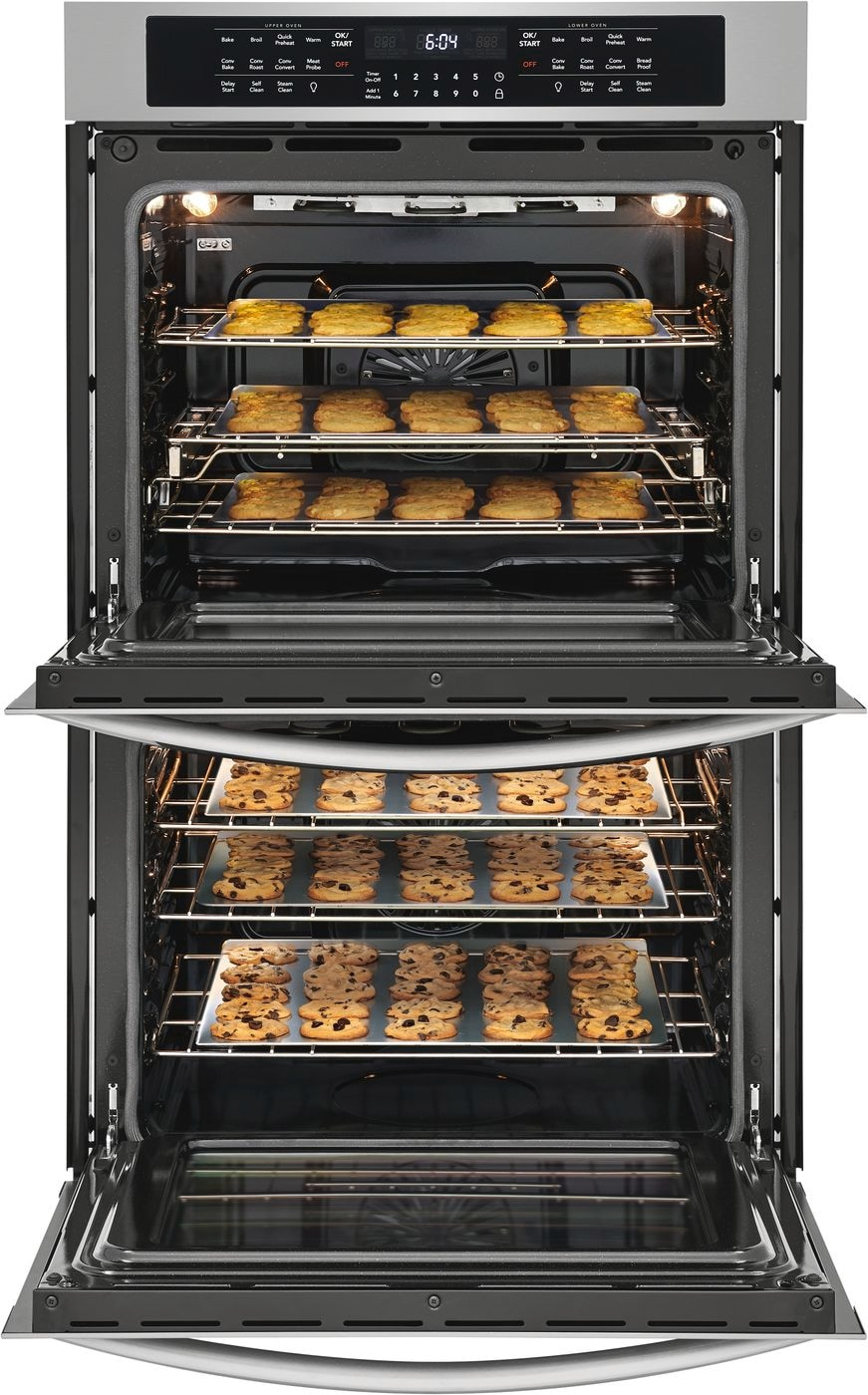 "Model: FGET3066UF | Frigidaire Gallery 30"" Double Electric Wall Oven"