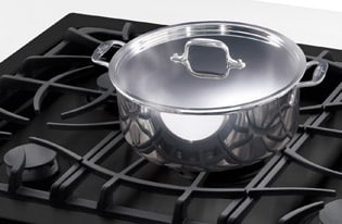 "Model: FGGC3047QS | Frigidaire Gallery 30"" Gas Cooktop"